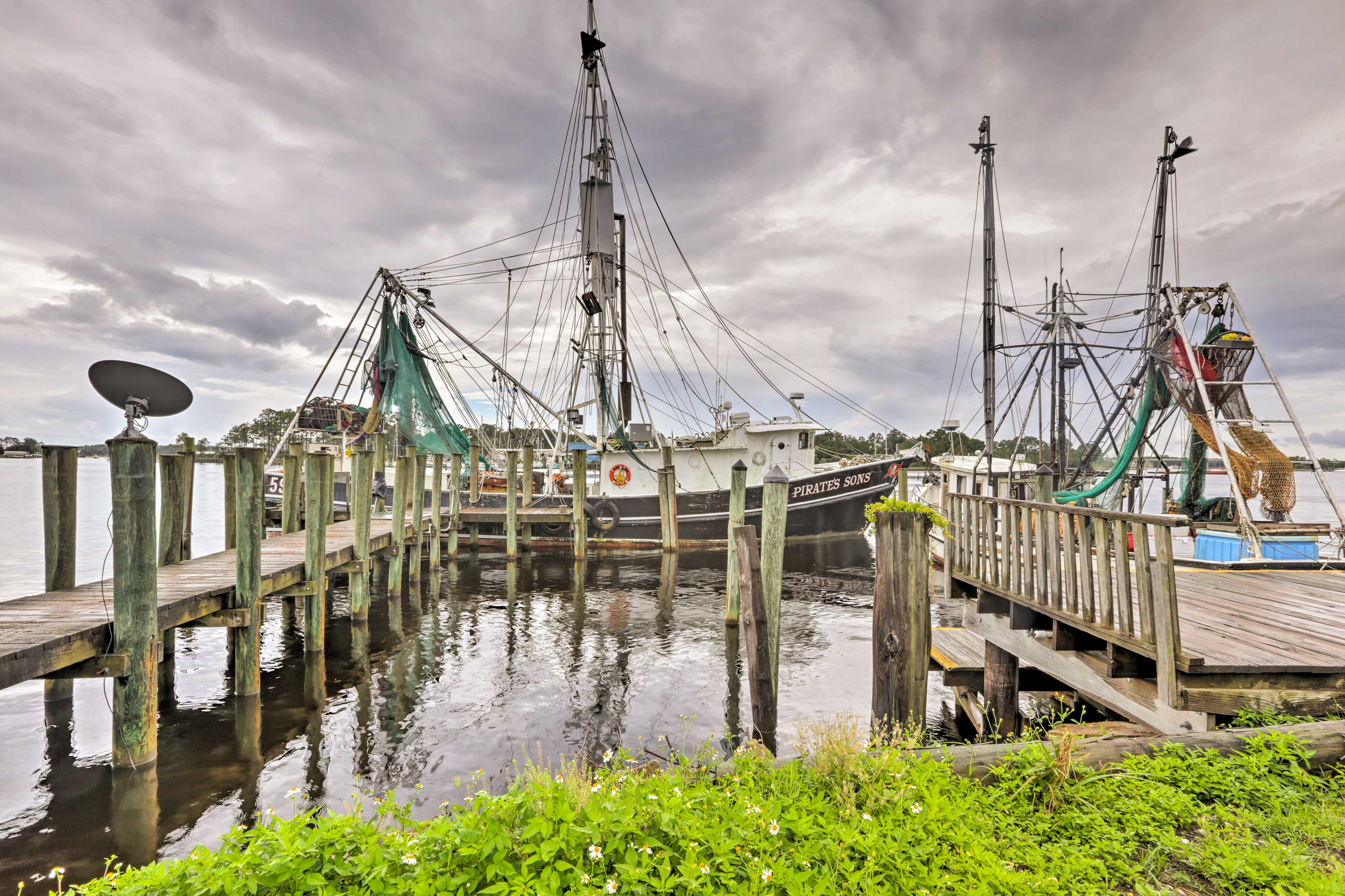 Discover Carrabelle with ease from this ideally located vacation rental!