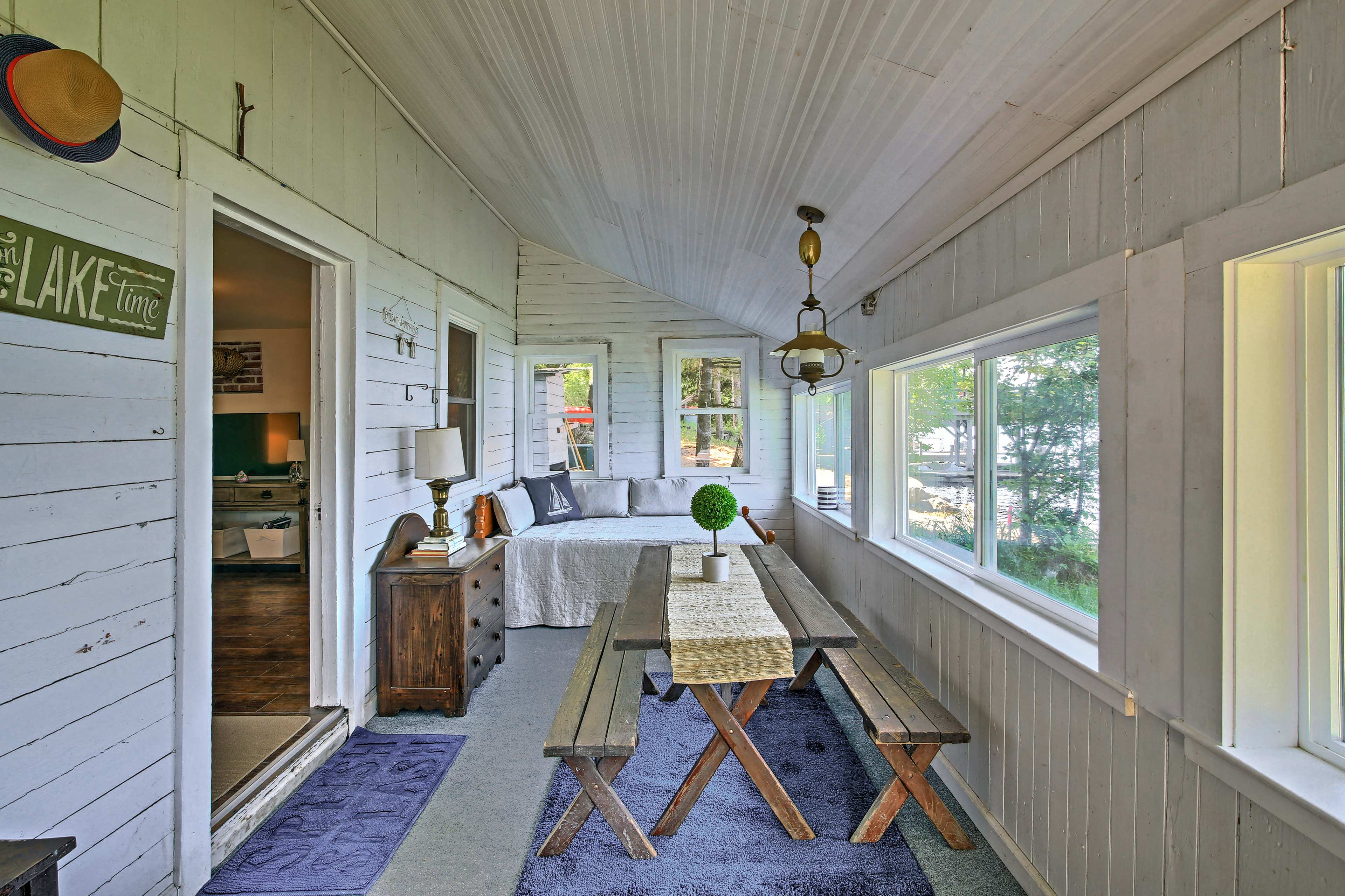 Step onto the sleeping porch for amazing views!