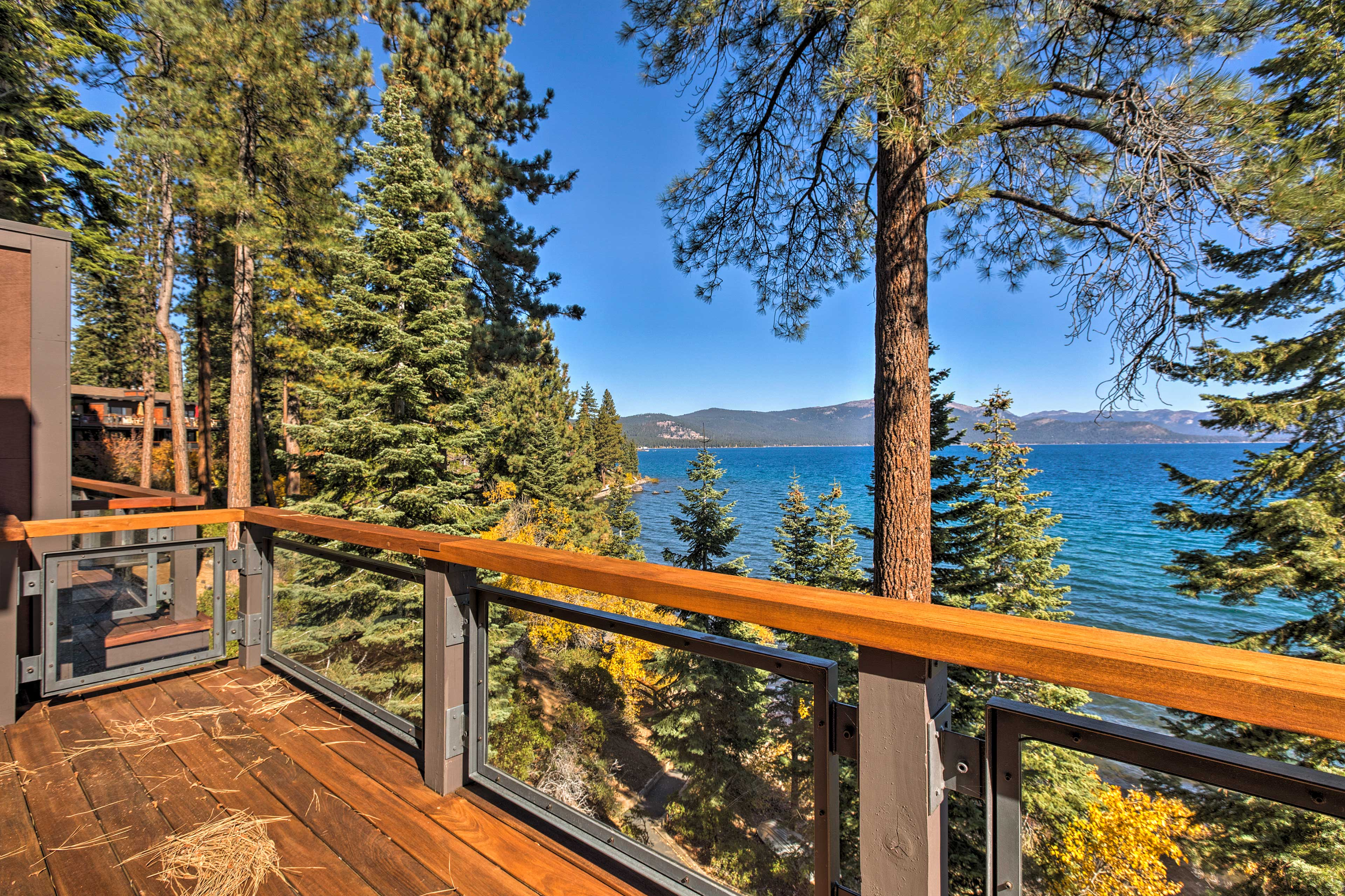 These views are sure to be a highlight of your Lake Tahoe getaway!
