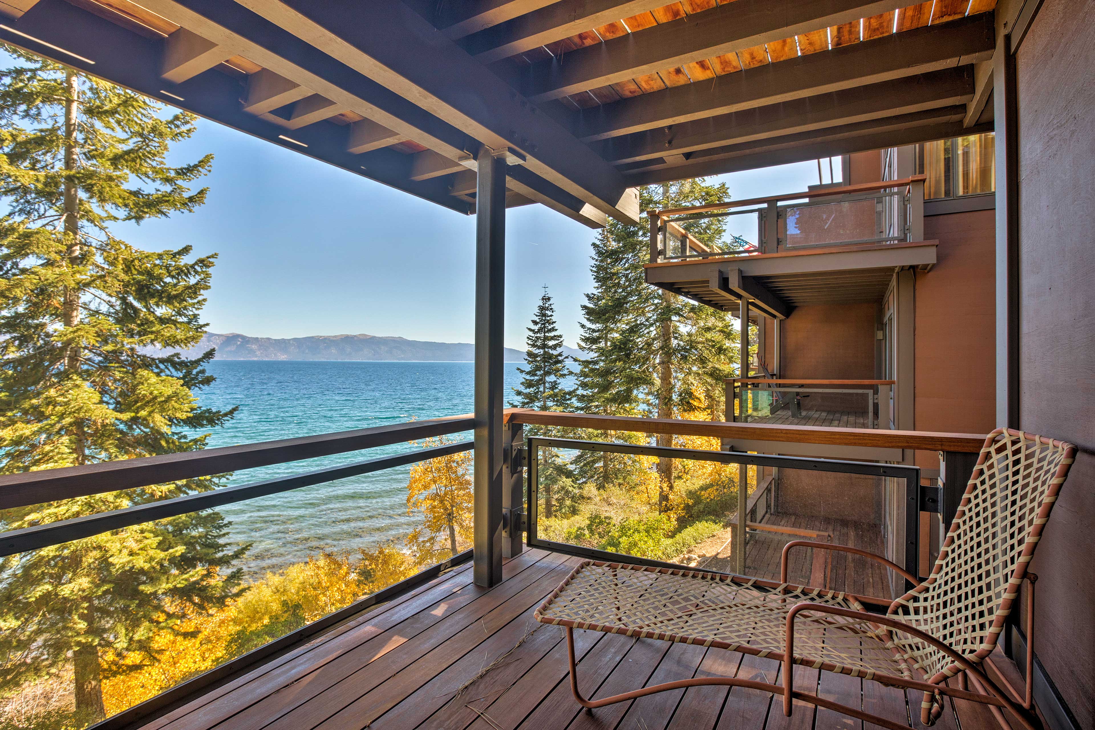 Enjoy stunning views and multiple levels of deck space.