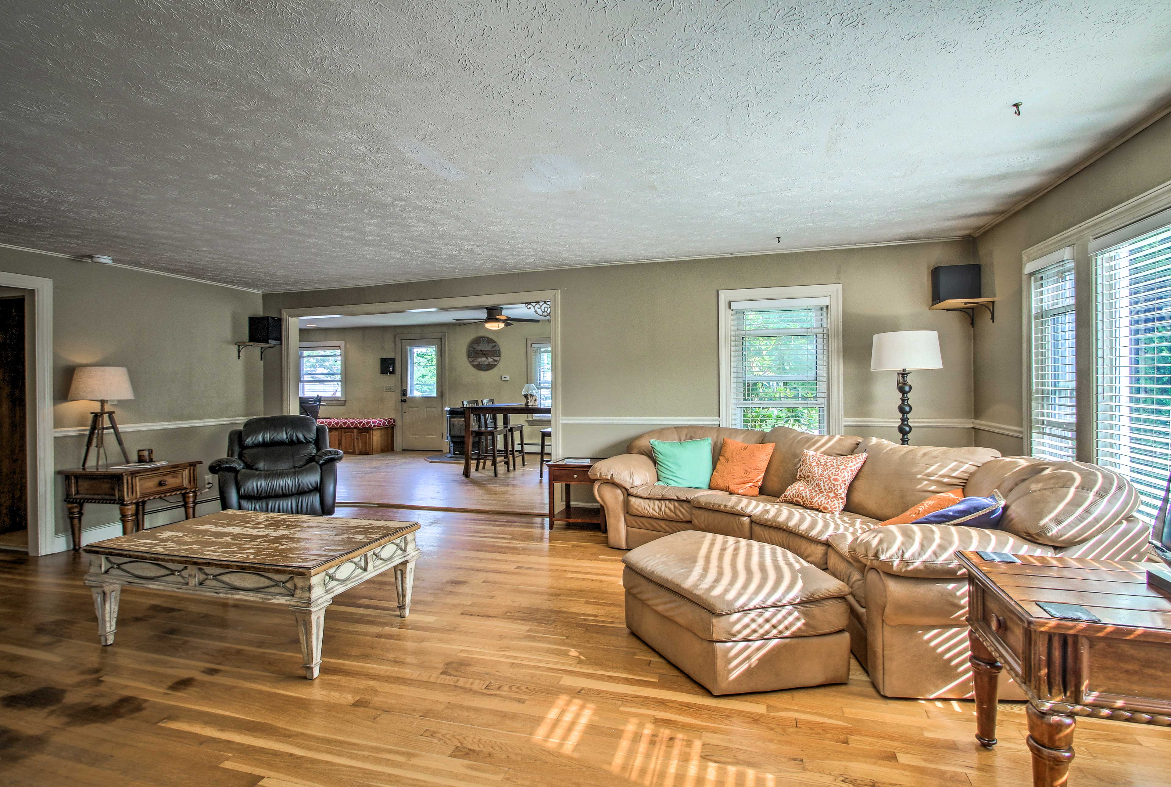 After exploring all that Old Orchard Beach has to offer, retire to the home!