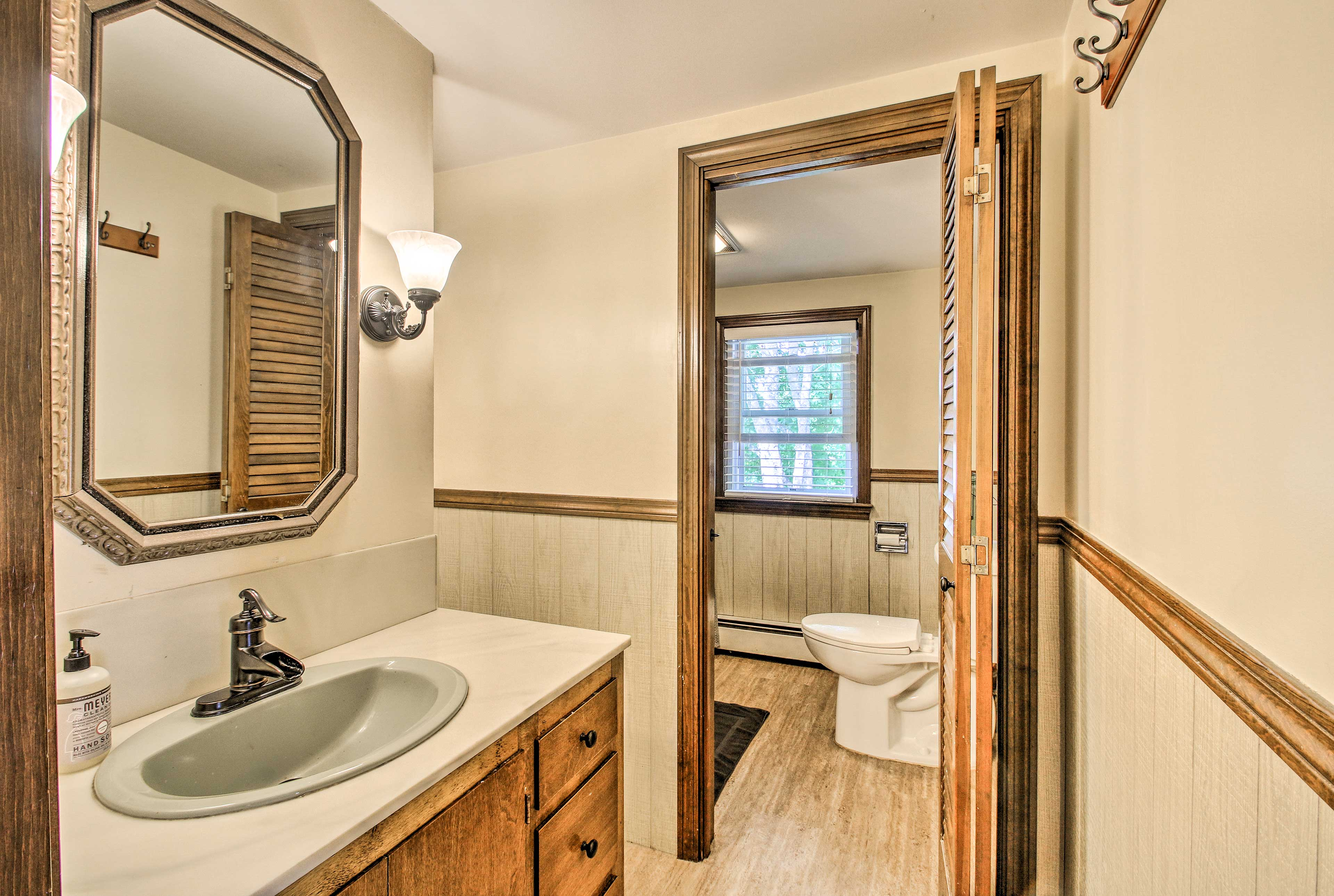 A second full bathroom can be found on the second floor.