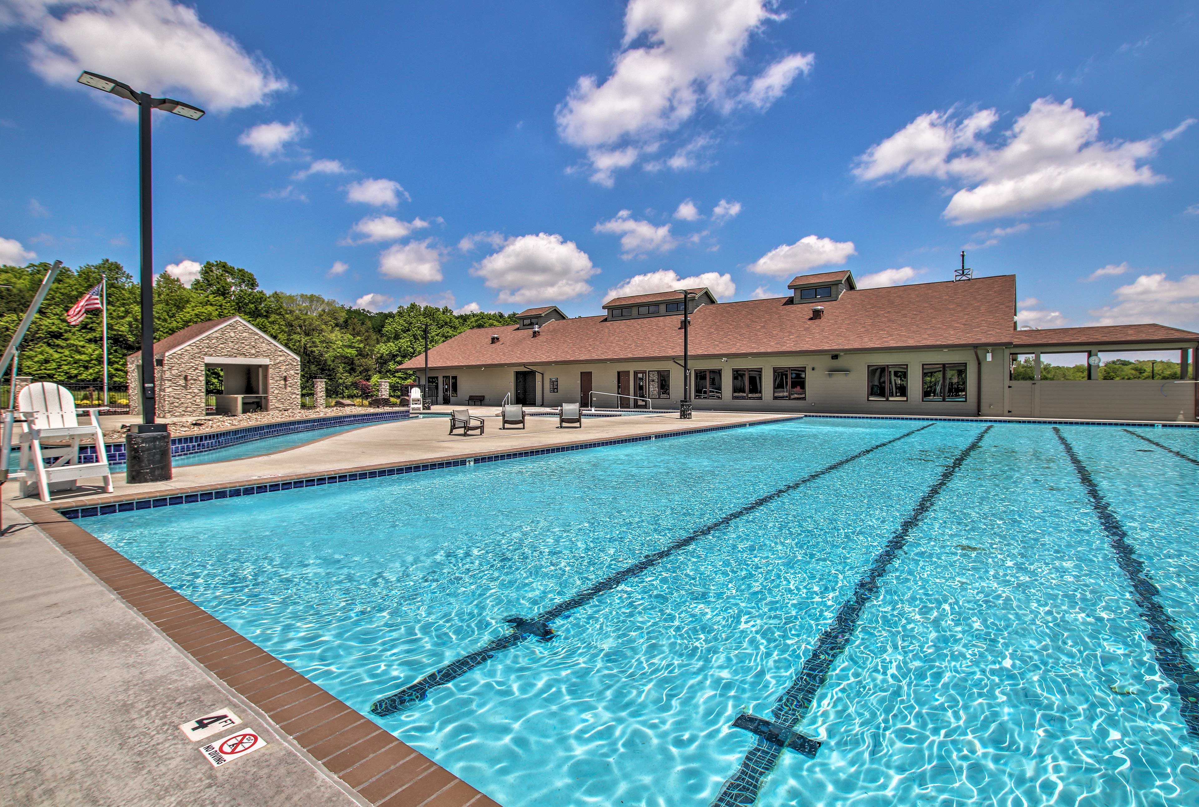 Everyone in your group is sure to love the resort amenities.
