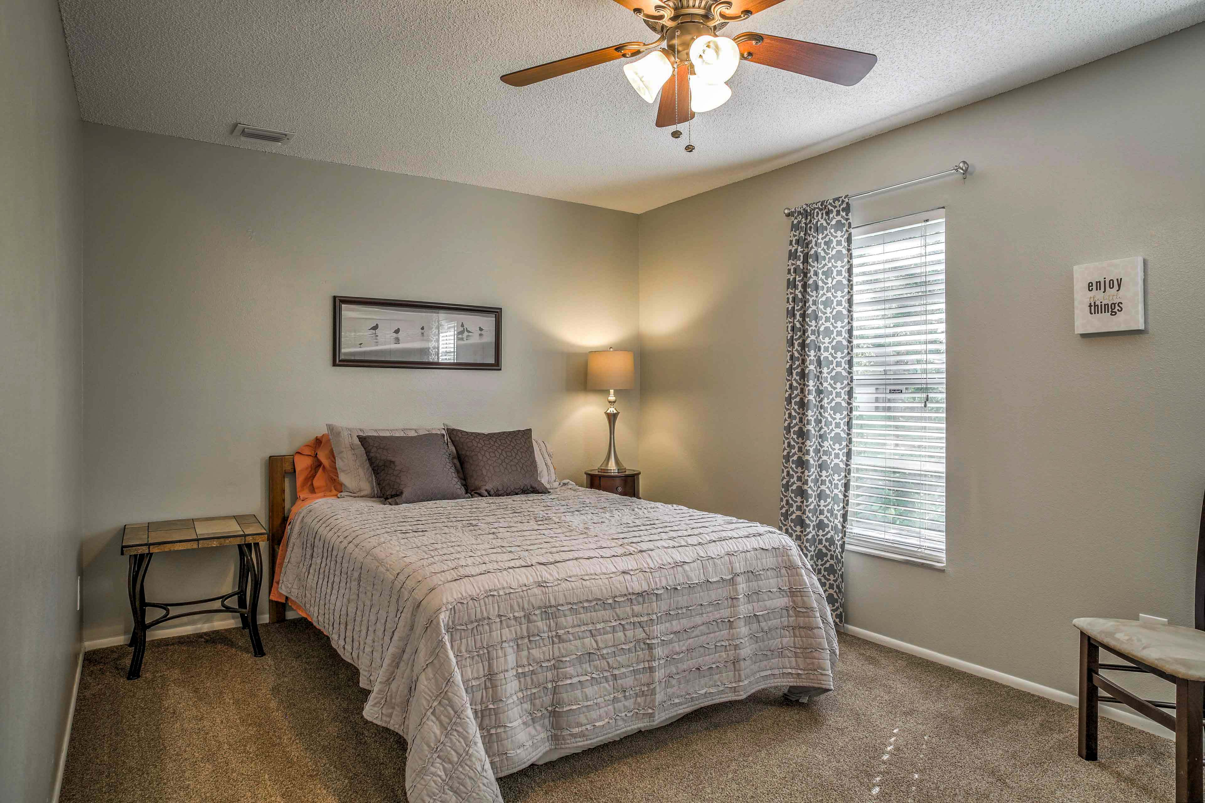 You'll feel right at home in the second bedroom.