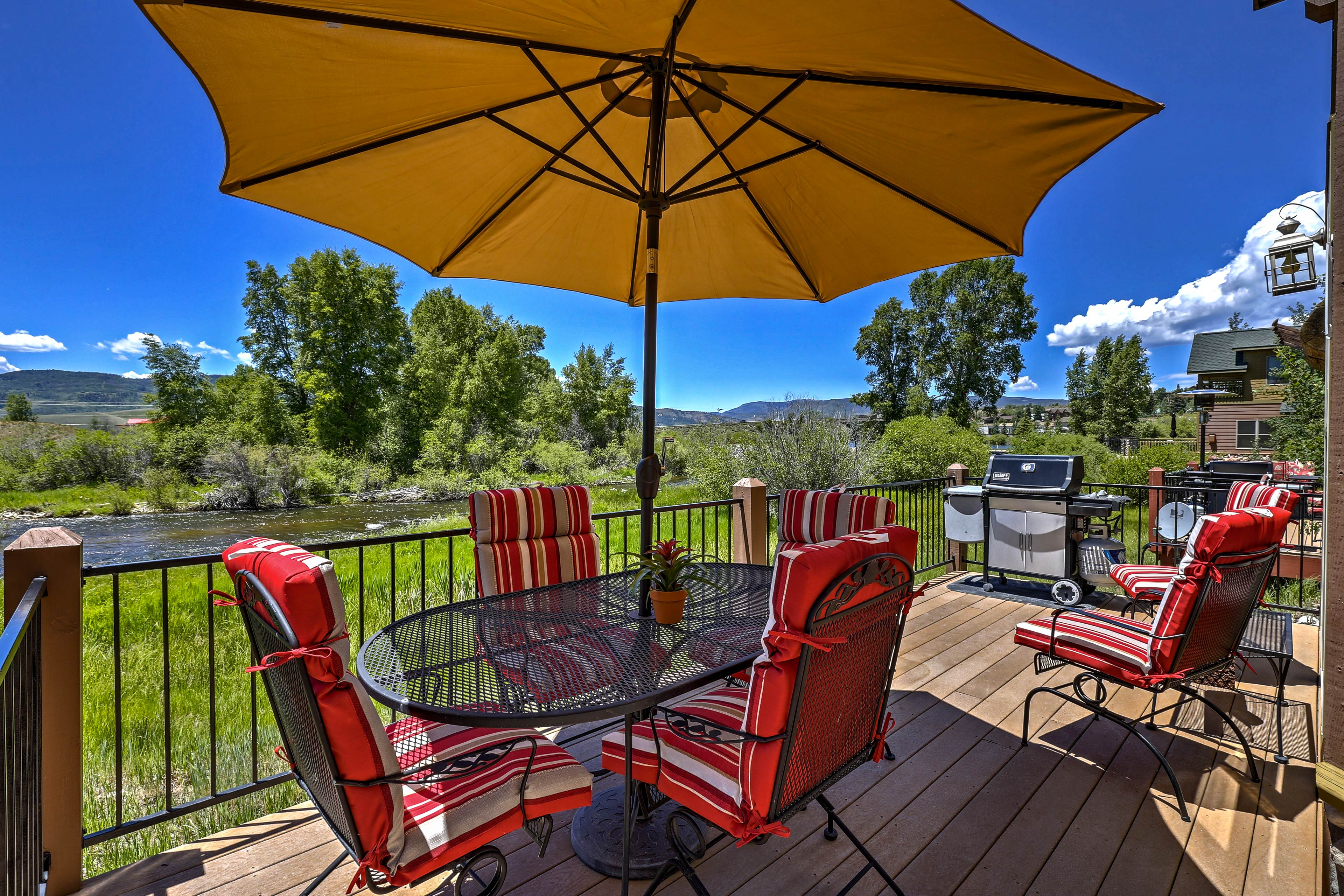 Experience the natural beauty of Granby from this vacation rental cabin.