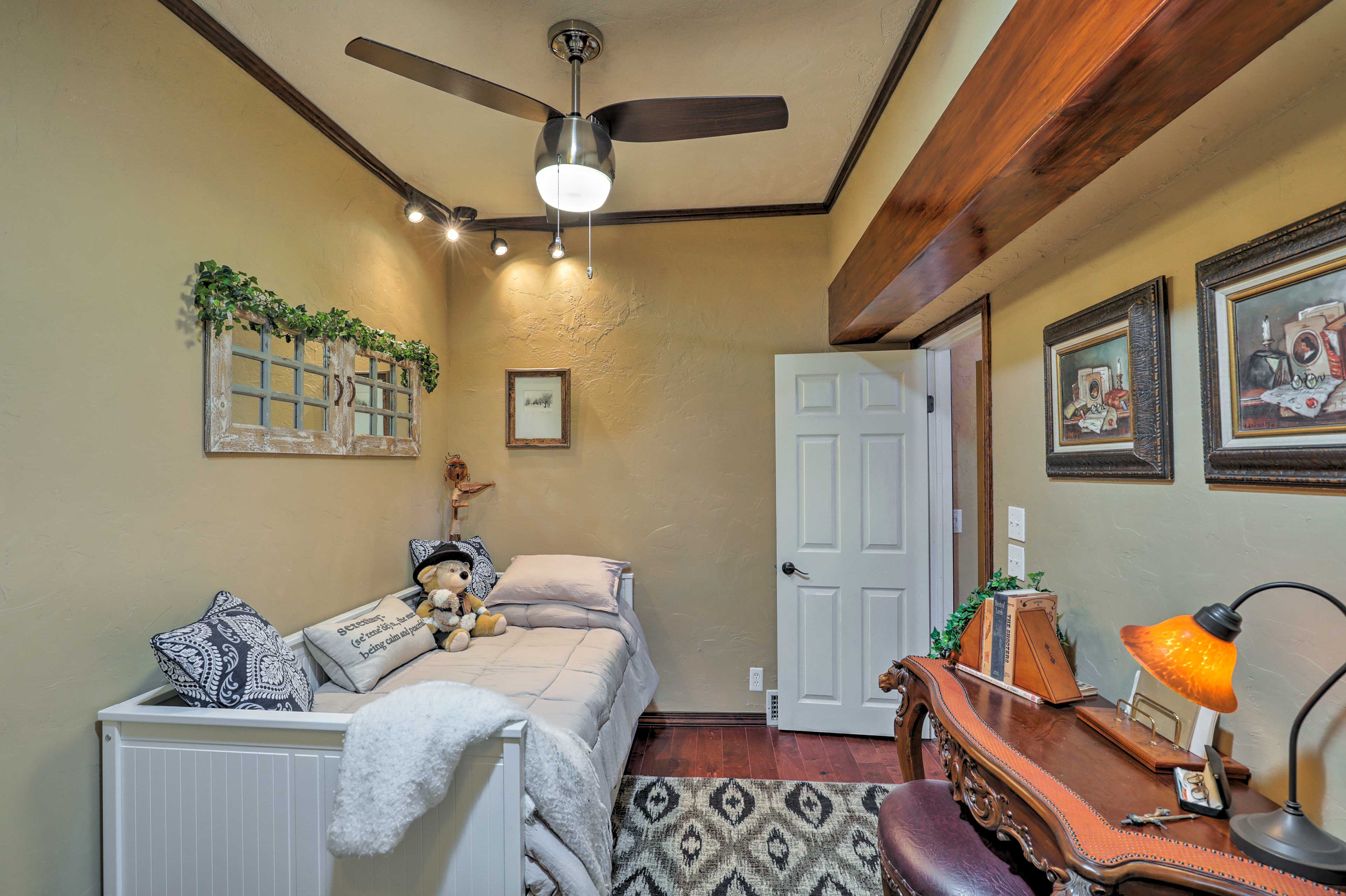 Your little one will love the third bedroom!