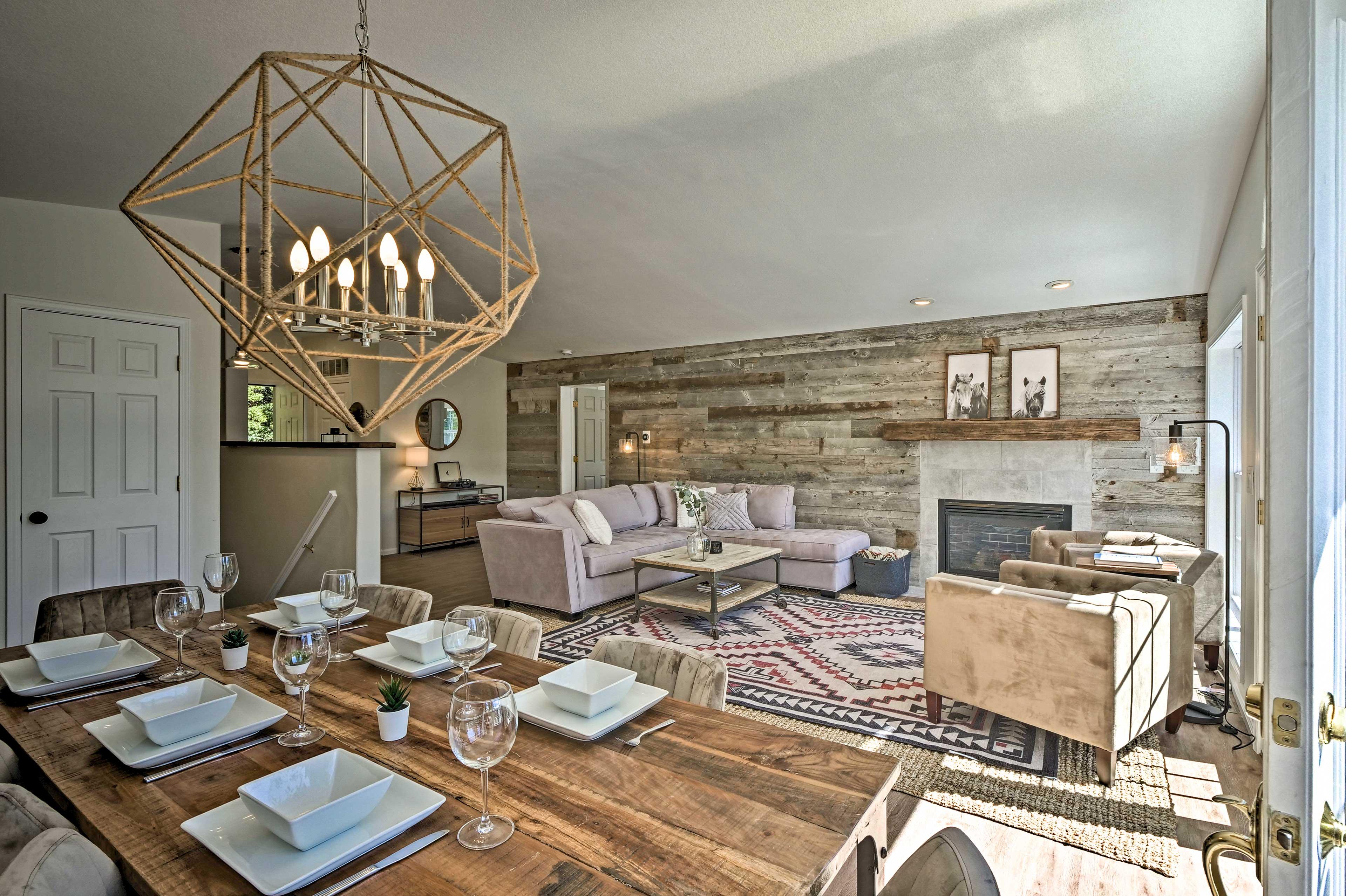 Farmhouse-Style Dining Table