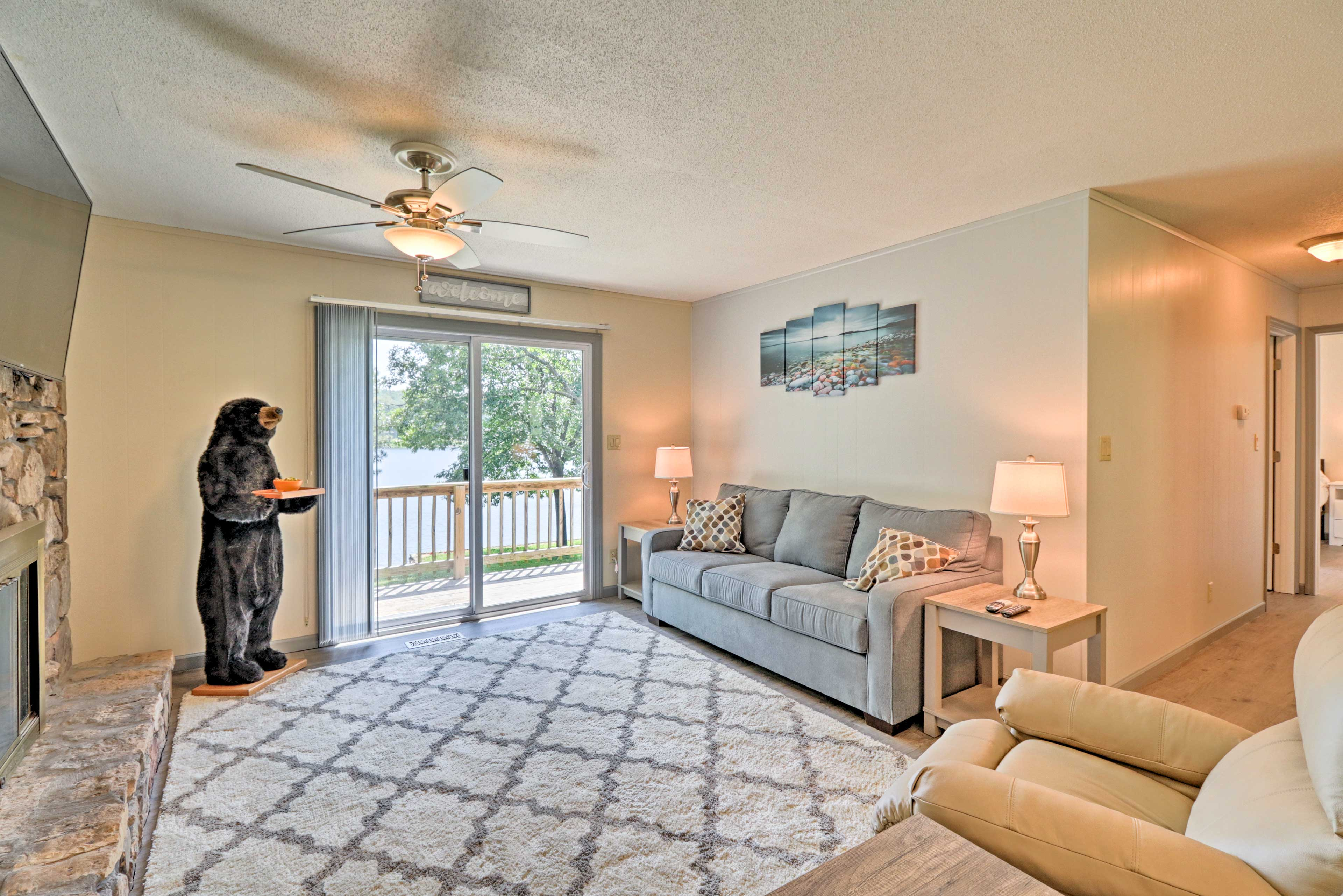 Enjoy over 2,000 square feet of living space.