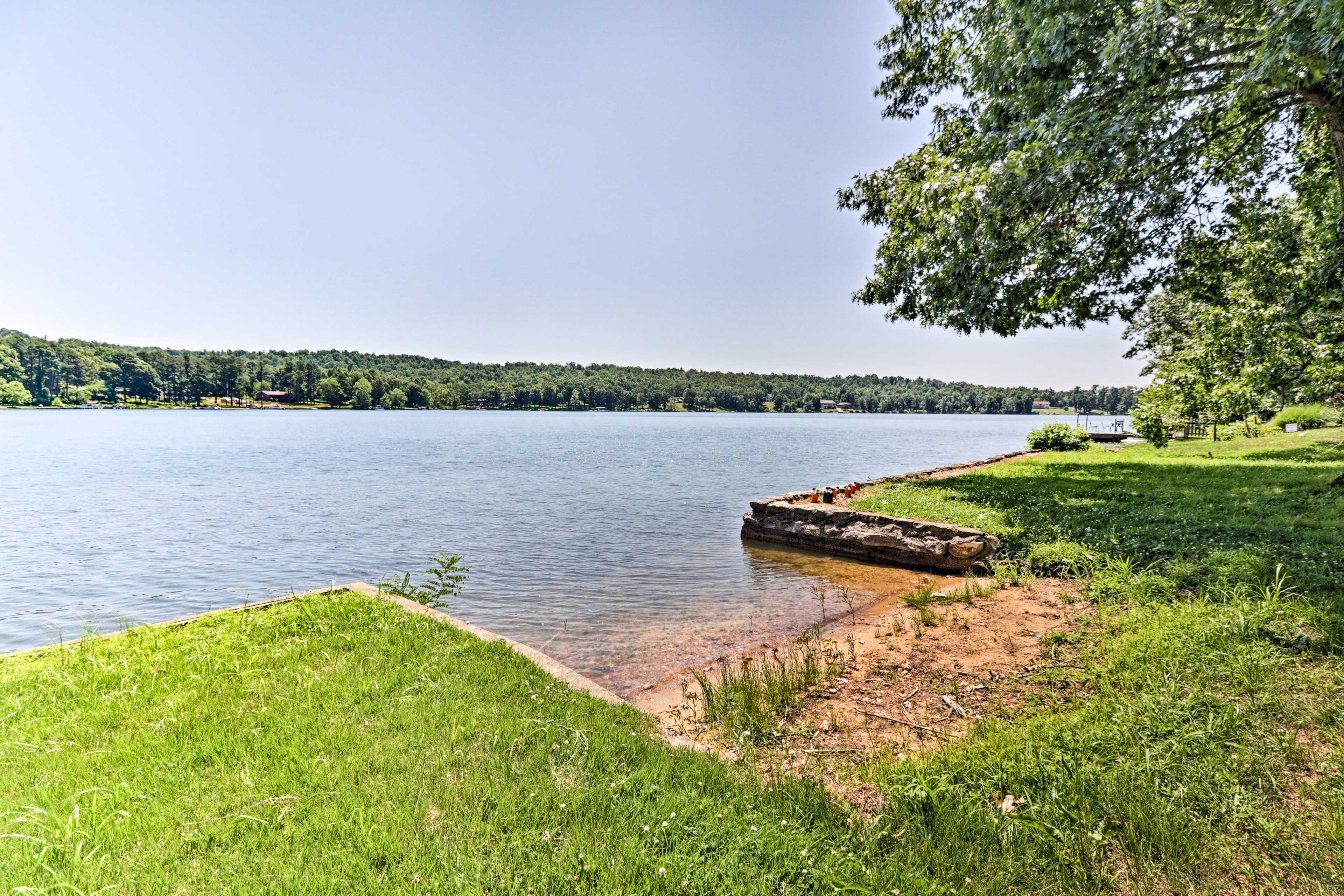 You're just steps away from Crown Lake.