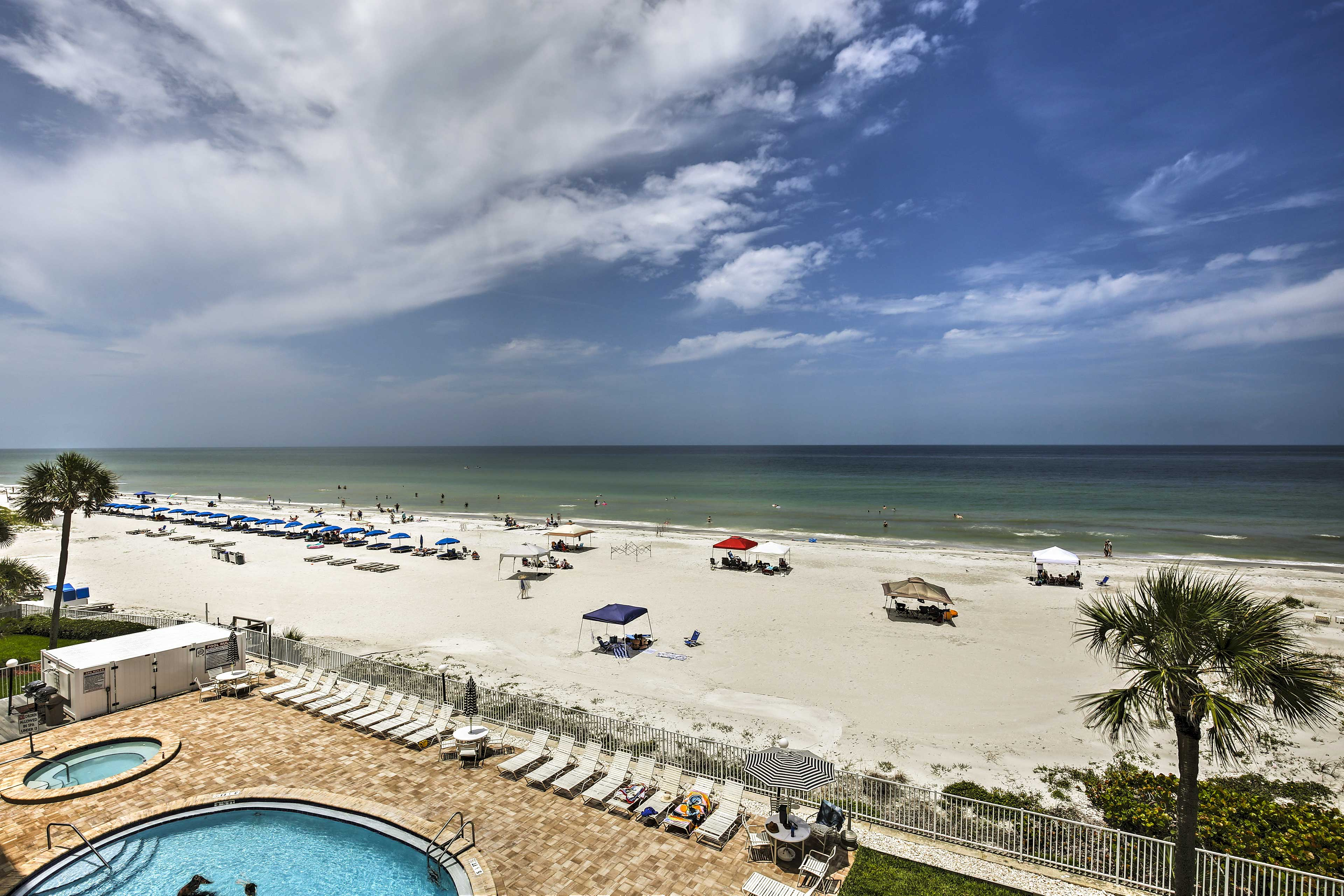 Run away to Indian Shores and stay at this vacation rental condo!