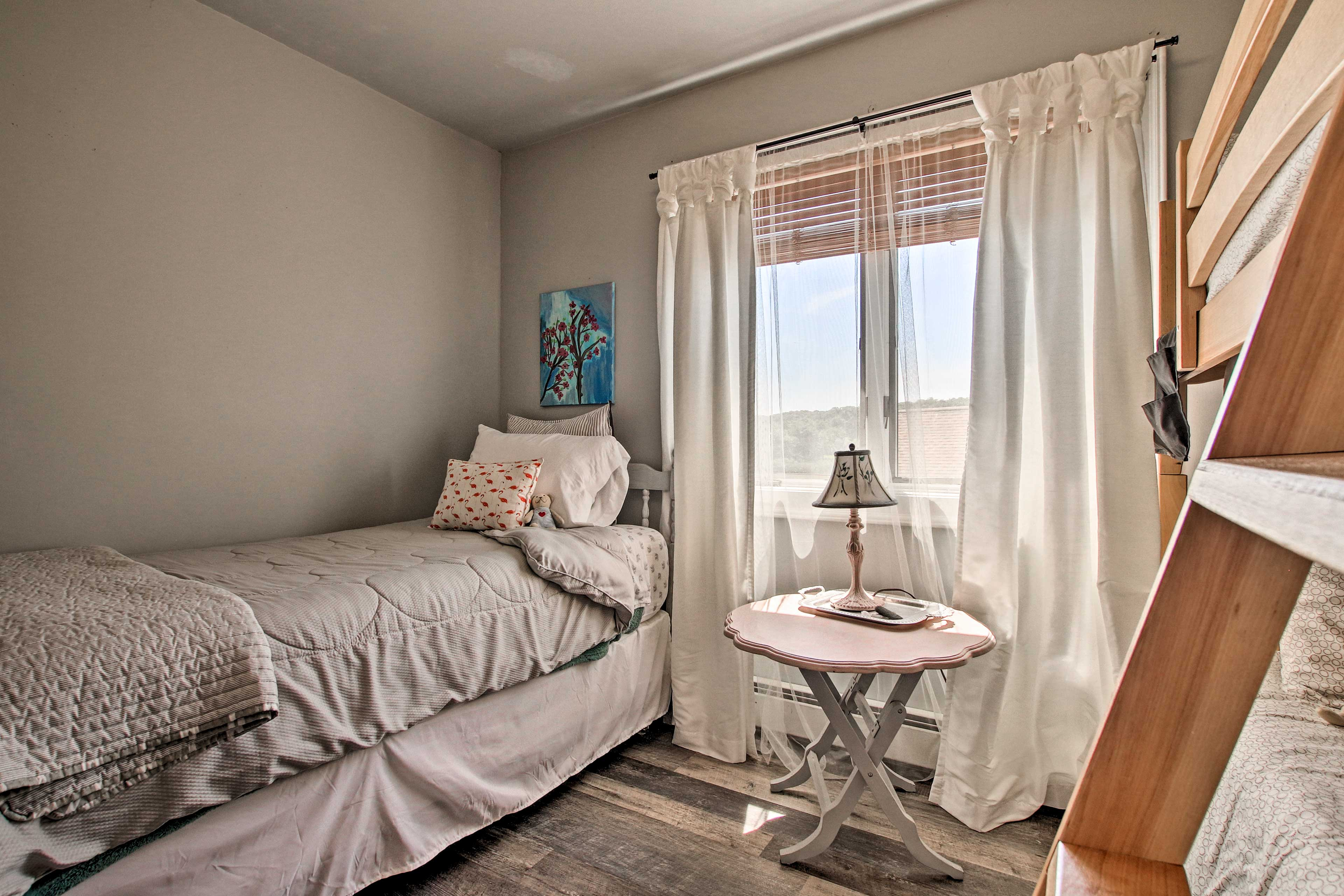 Linens are provided during your stay.