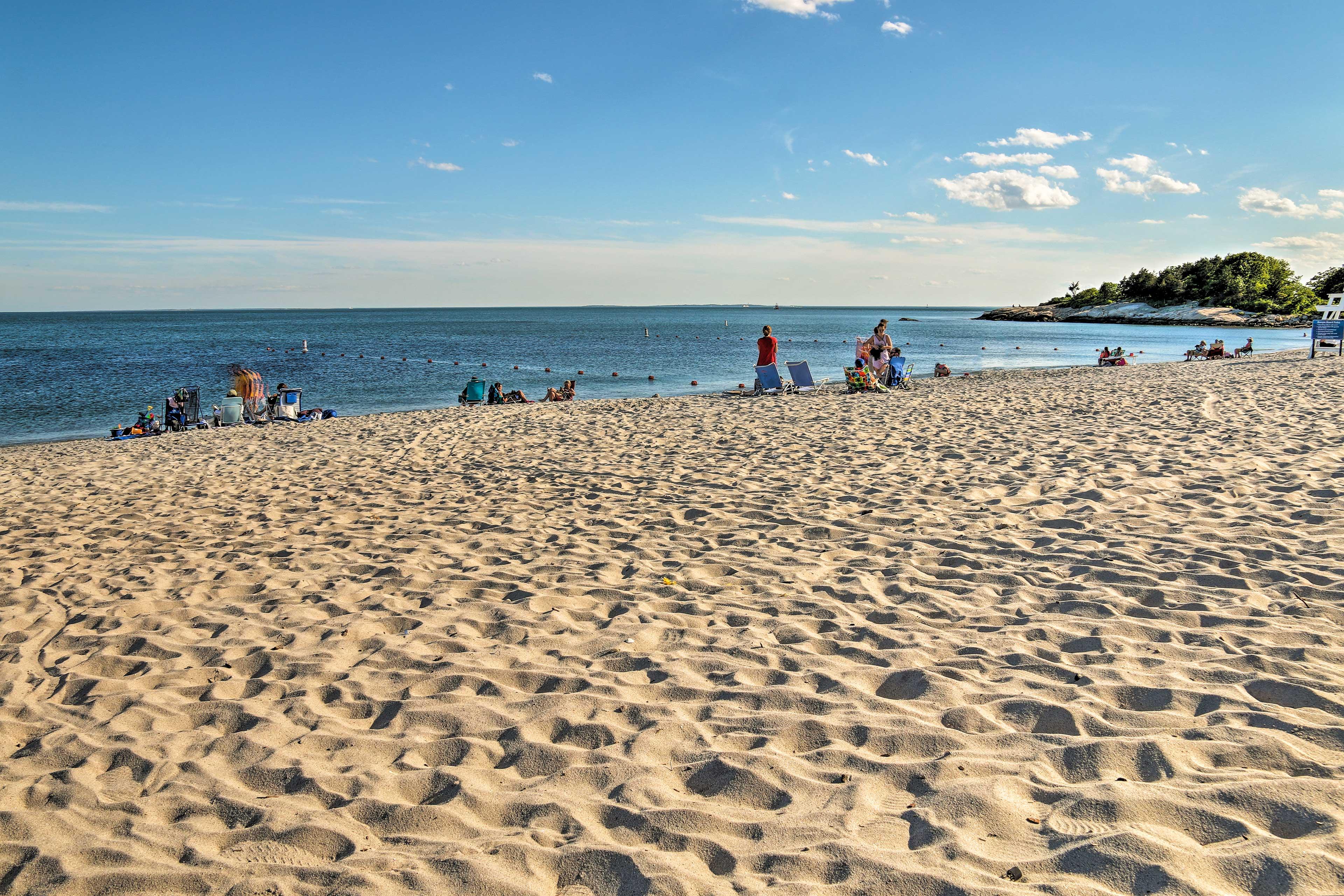 Ocean Beach Park is mere minutes away!