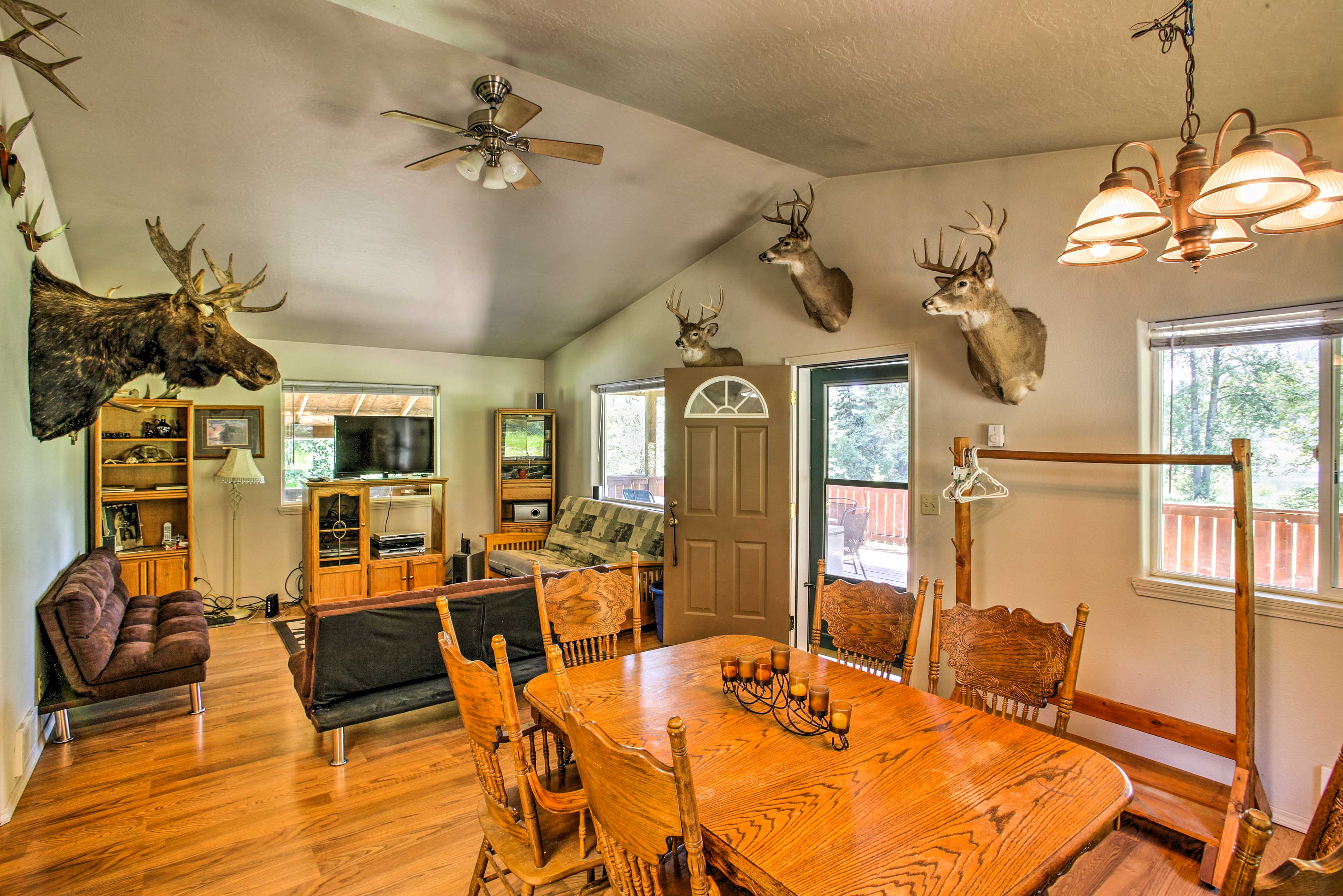 St. Maries Vacation Rental   Home   2BR   1BA   1,150 Sq Ft