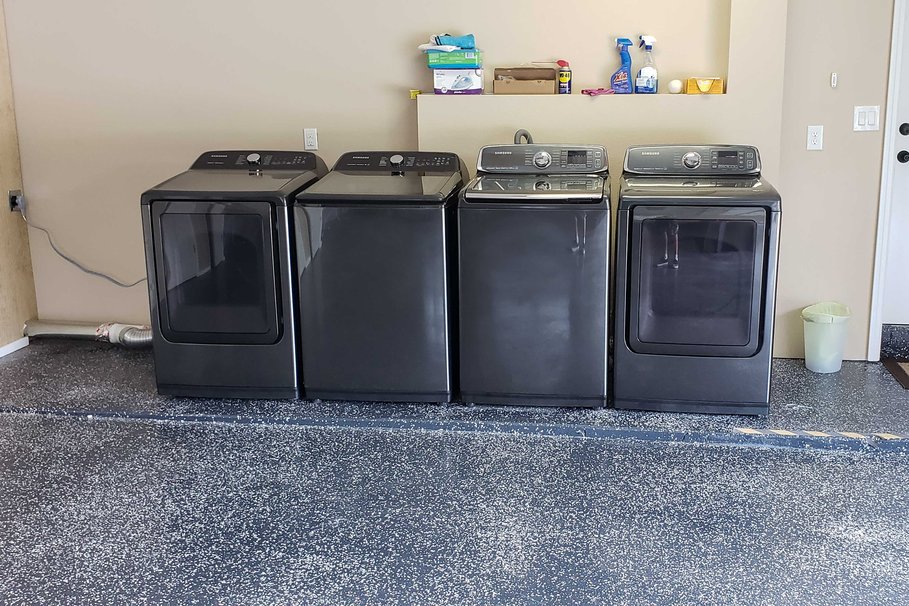 The house boasts 2 new washers and 2 dryers!