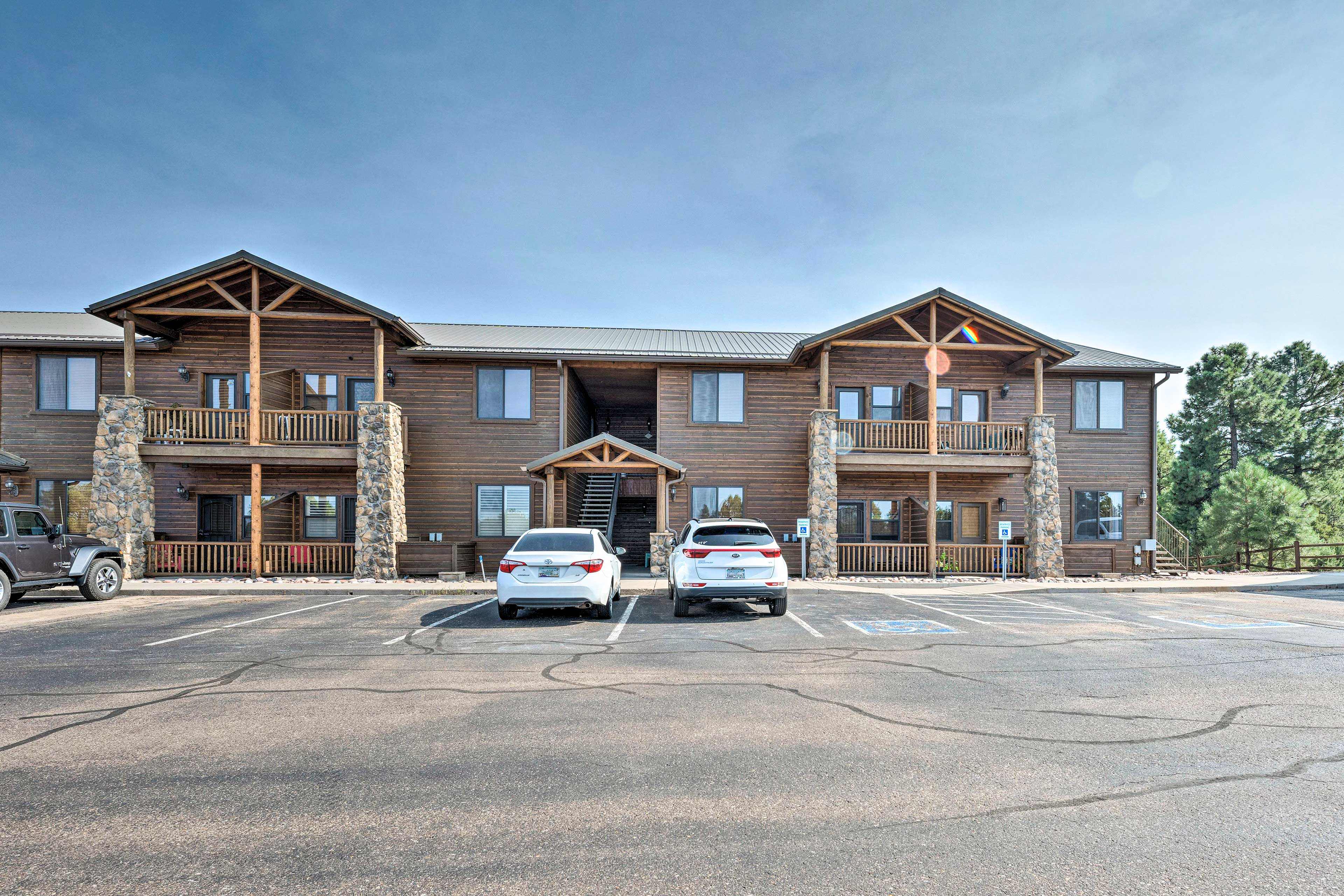 Your condo is just minutes from Sunrise Park Resort ensuring endless winter fun!