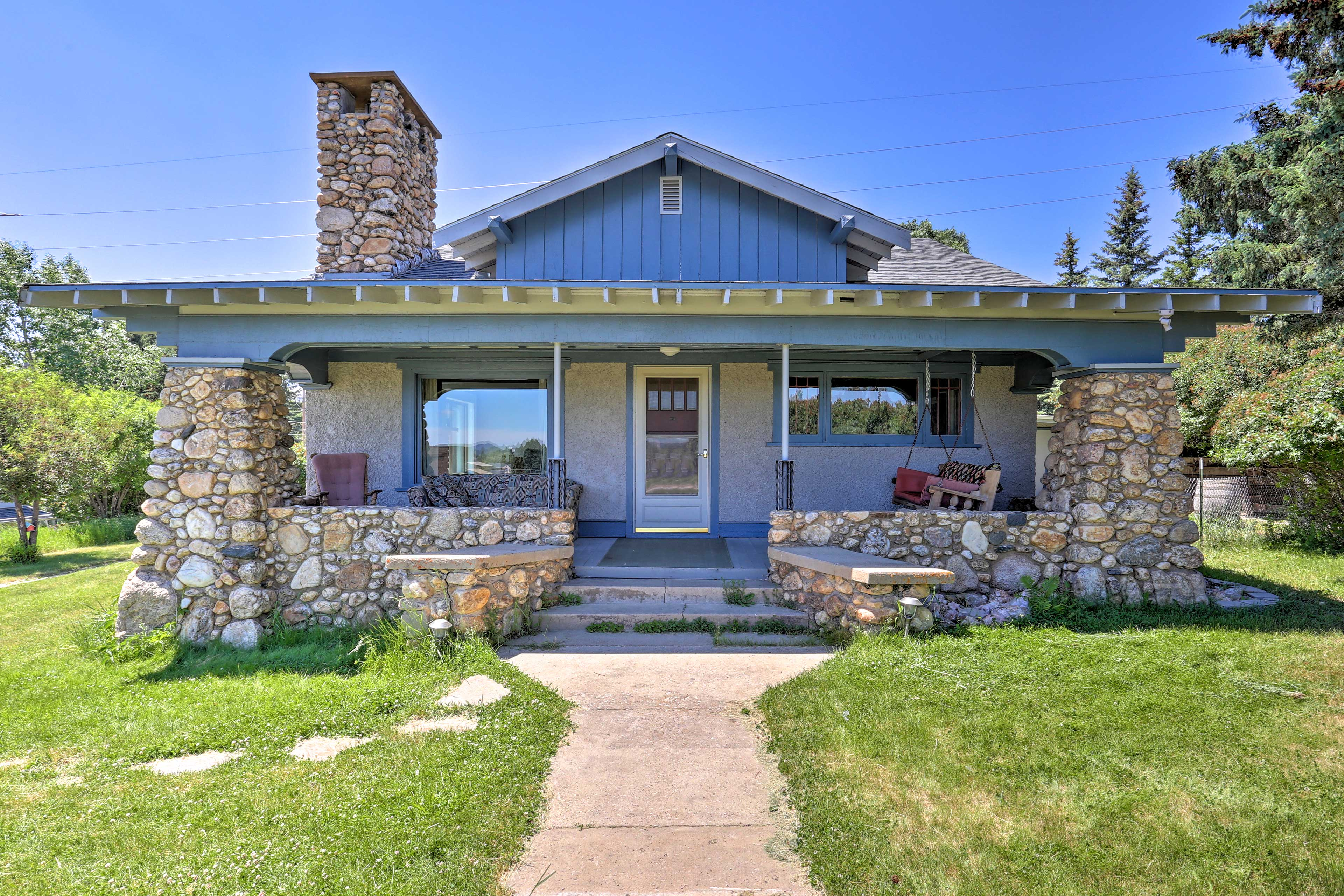 Explore the Black Hills from 'The Custer House' vacation rental.
