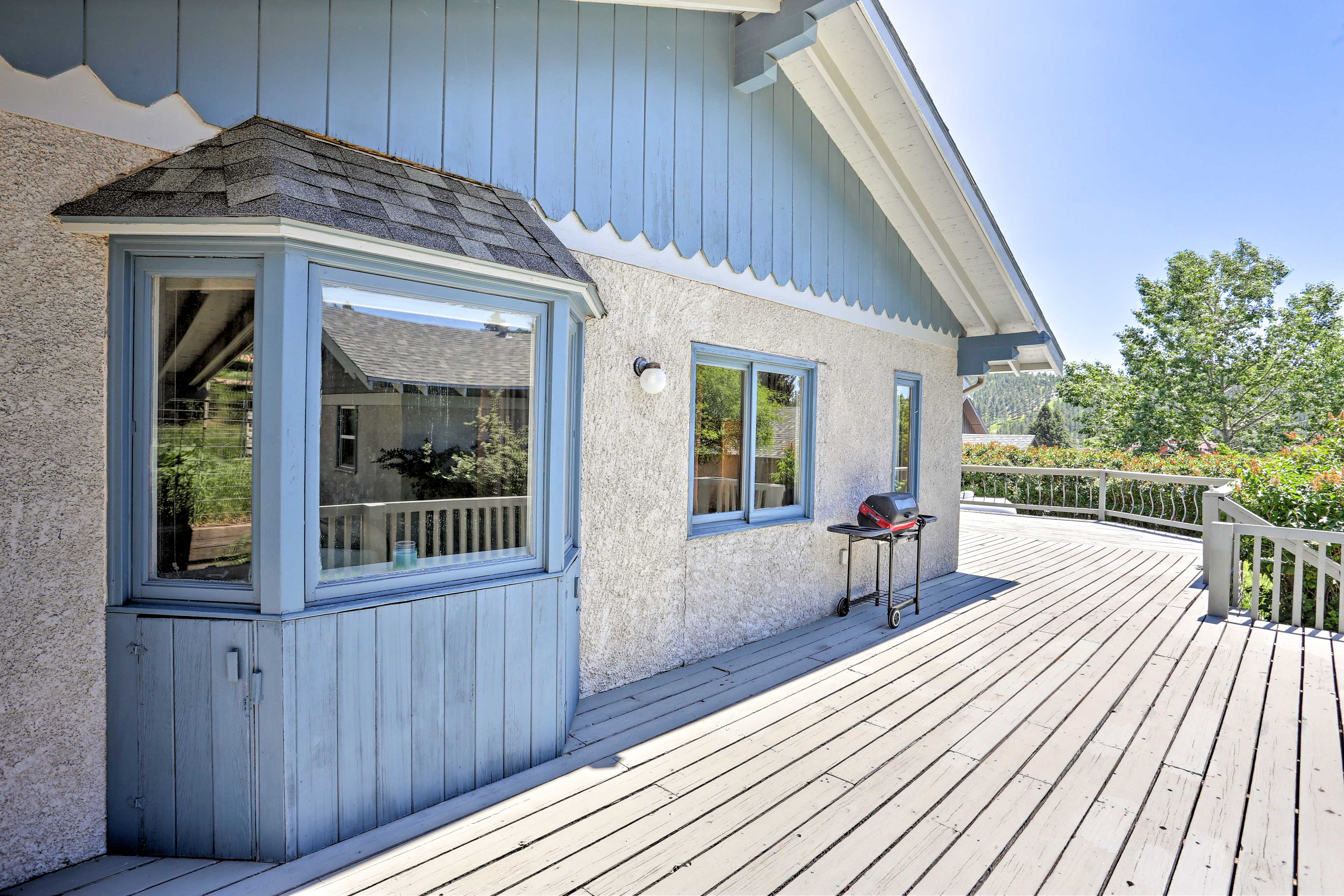 This charming bungalow home is an outdoor enthusiast's dream.