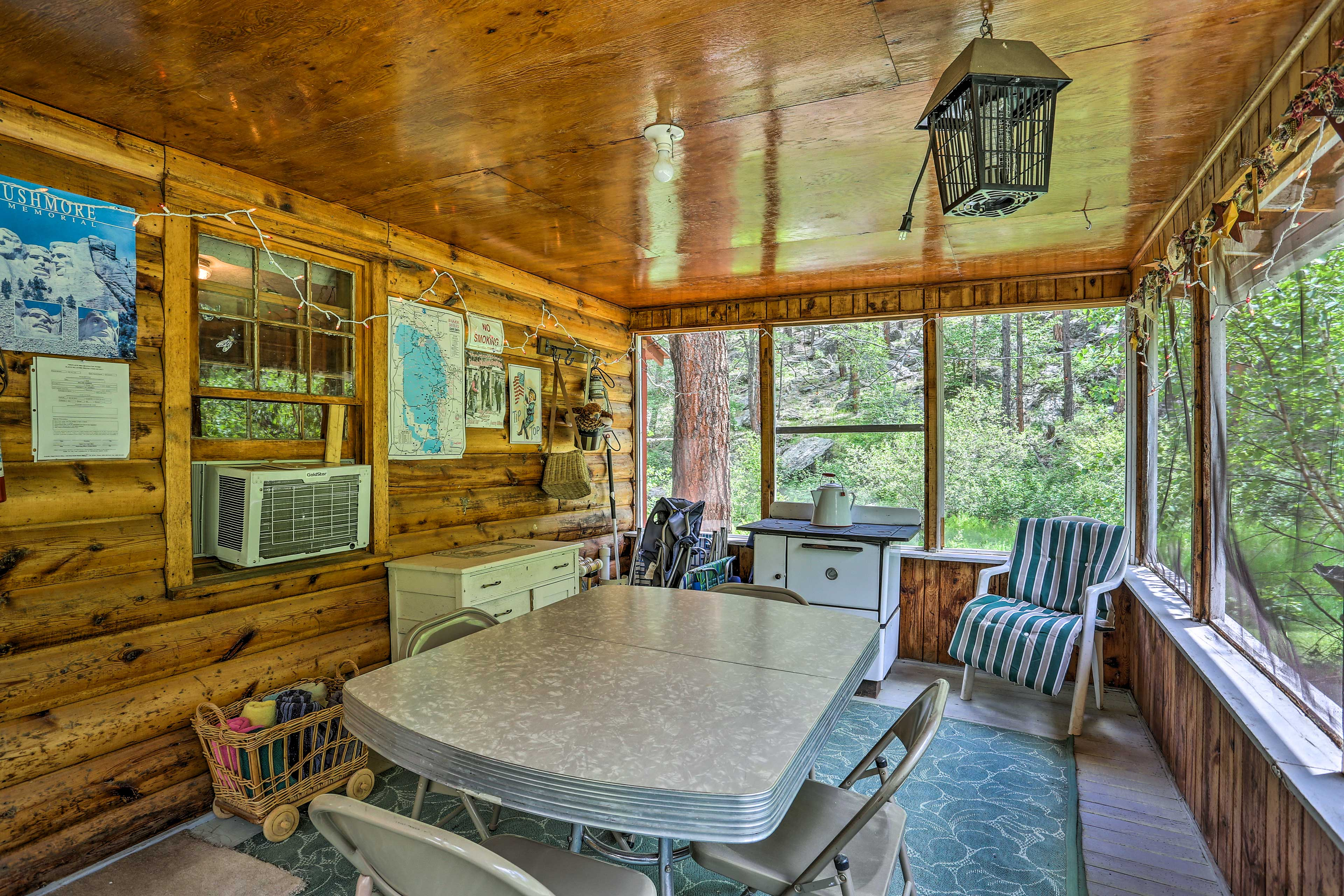 Play a board game or card game in the sunroom.
