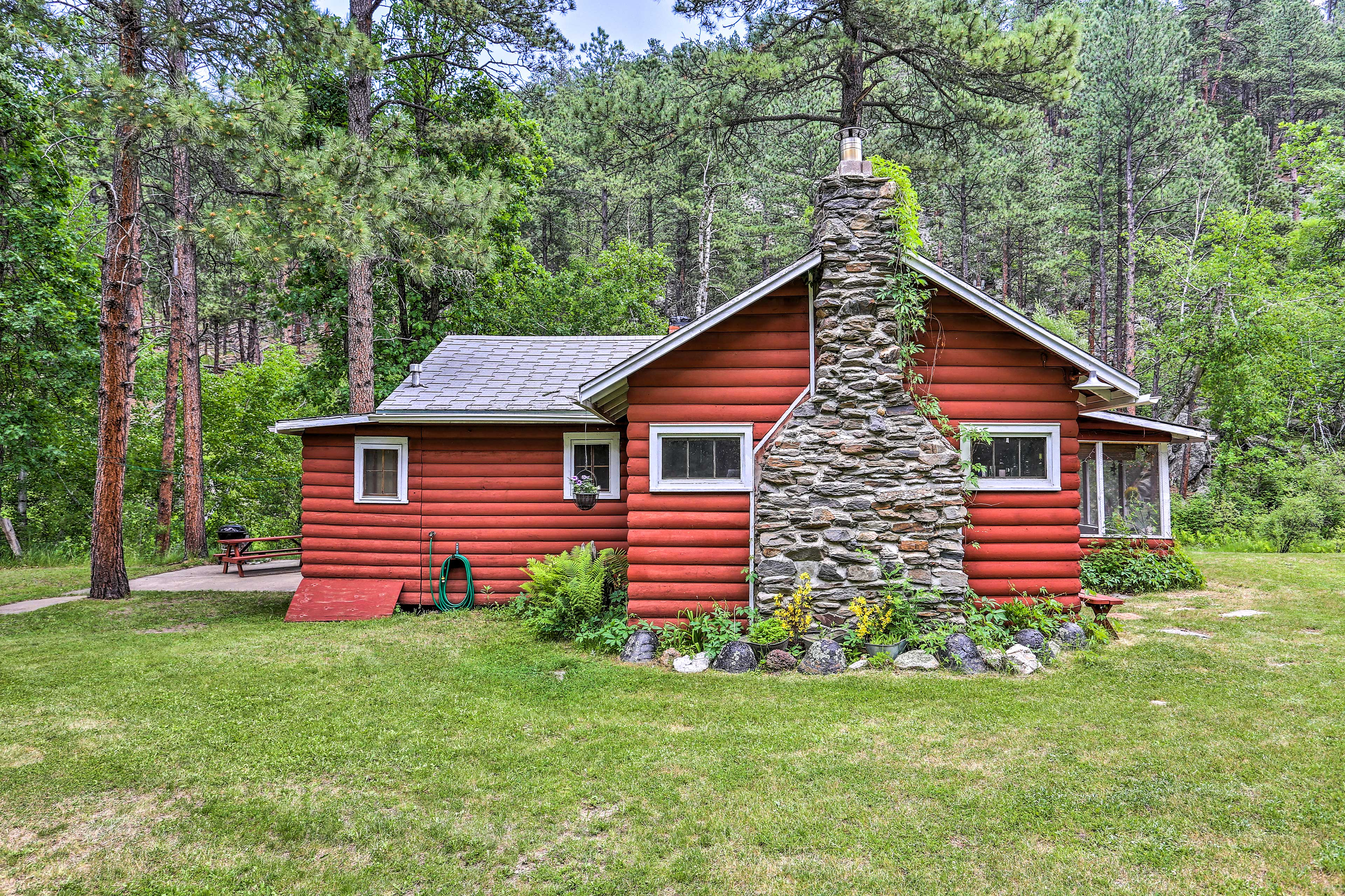Originally built for Mount Rushmore workers, this home is full of history.