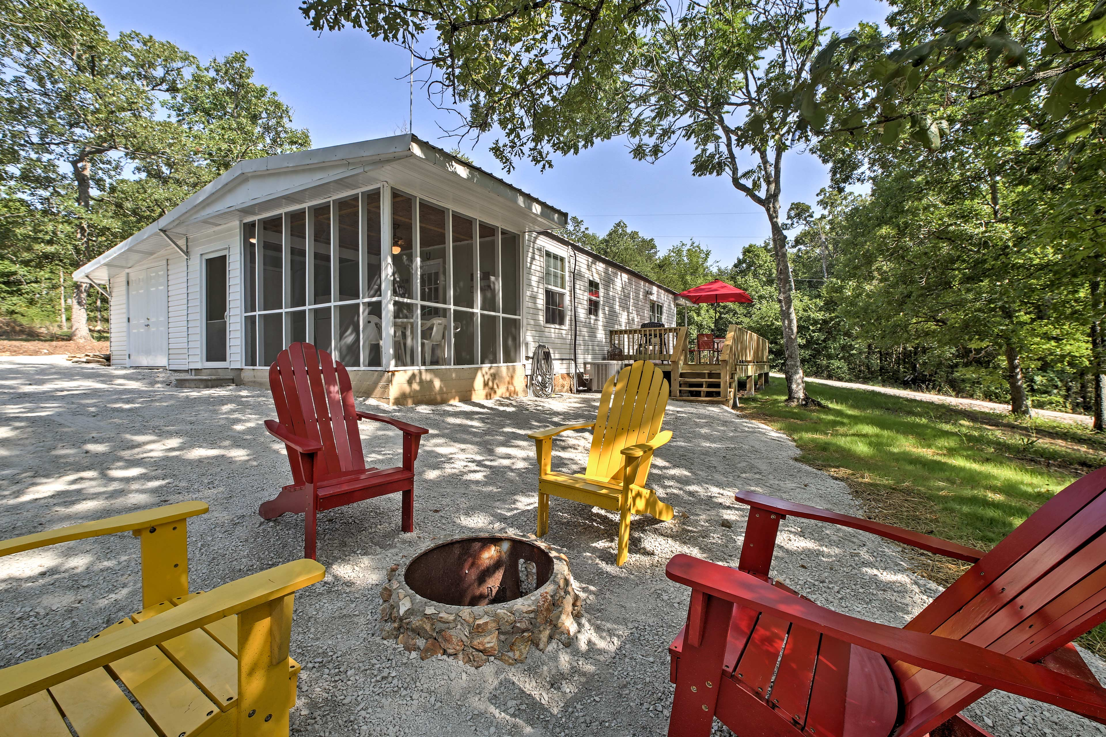 Up to 9 guests can enjoy the peaceful nature of this vacation rental home!
