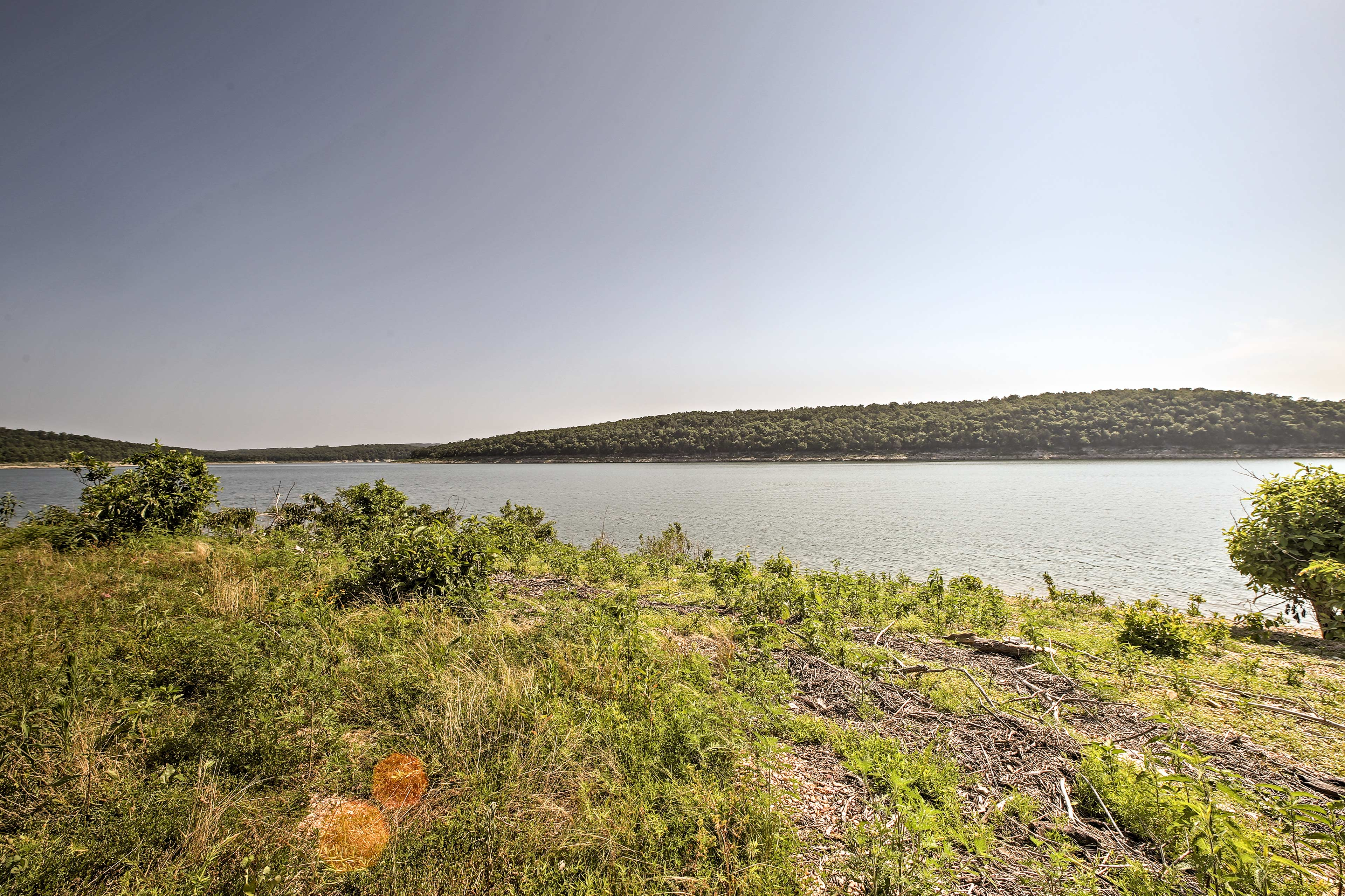 Bull Shoals Lake is just steps away and offers the opportunity for aquatic fun!
