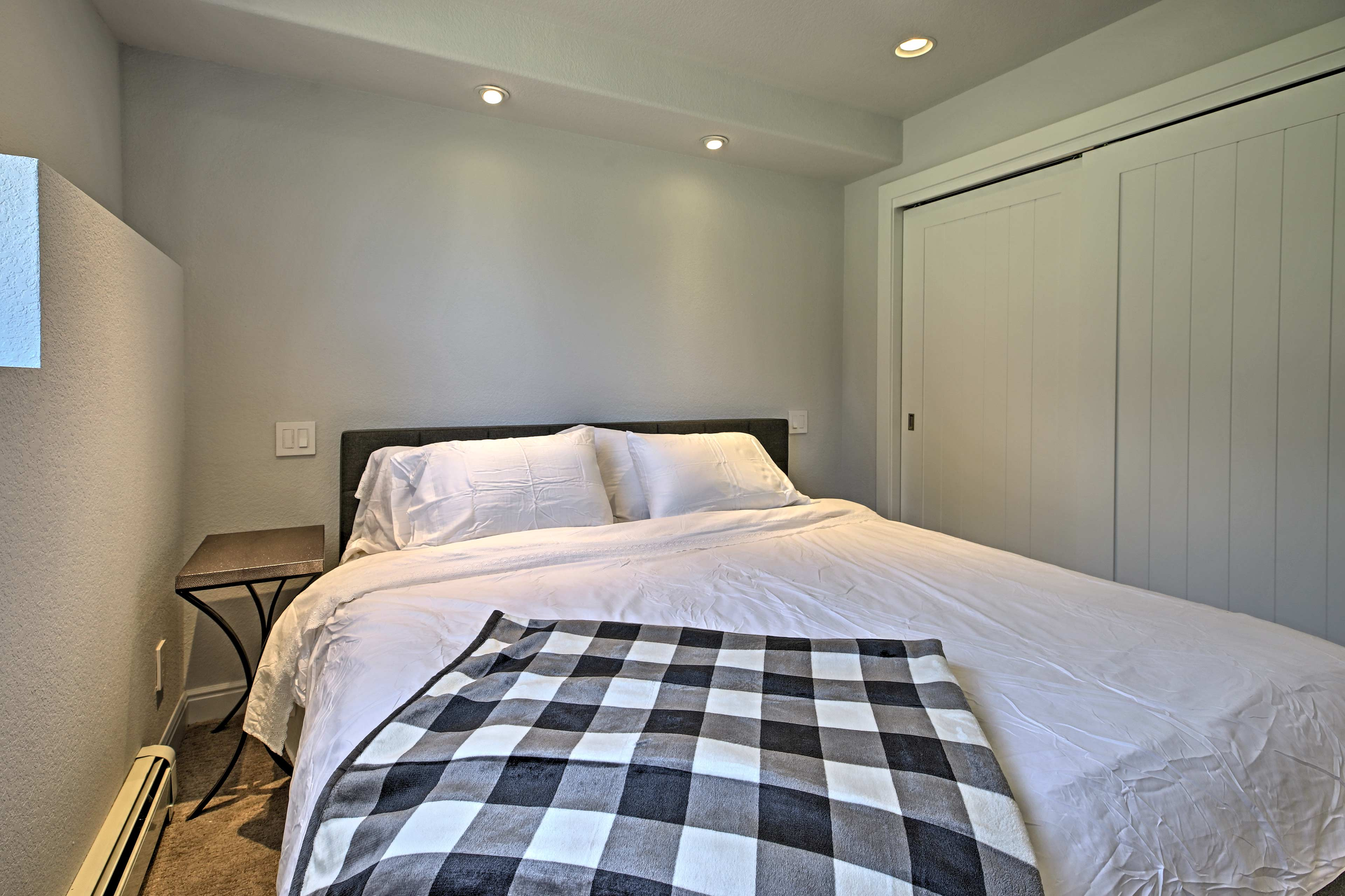 The second bedroom has an additional king mattress.