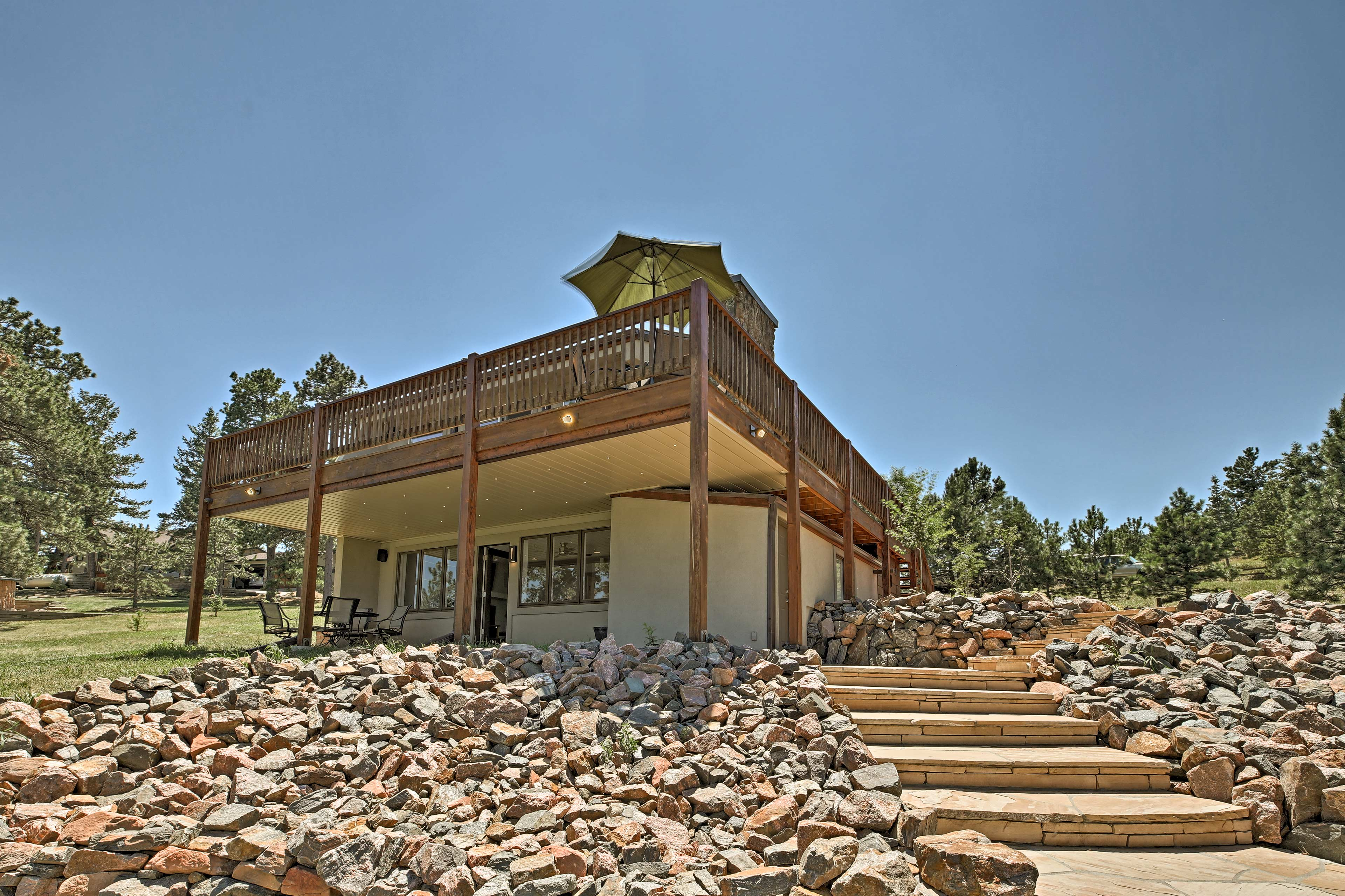 This mountain home is the perfect Colorado escape!