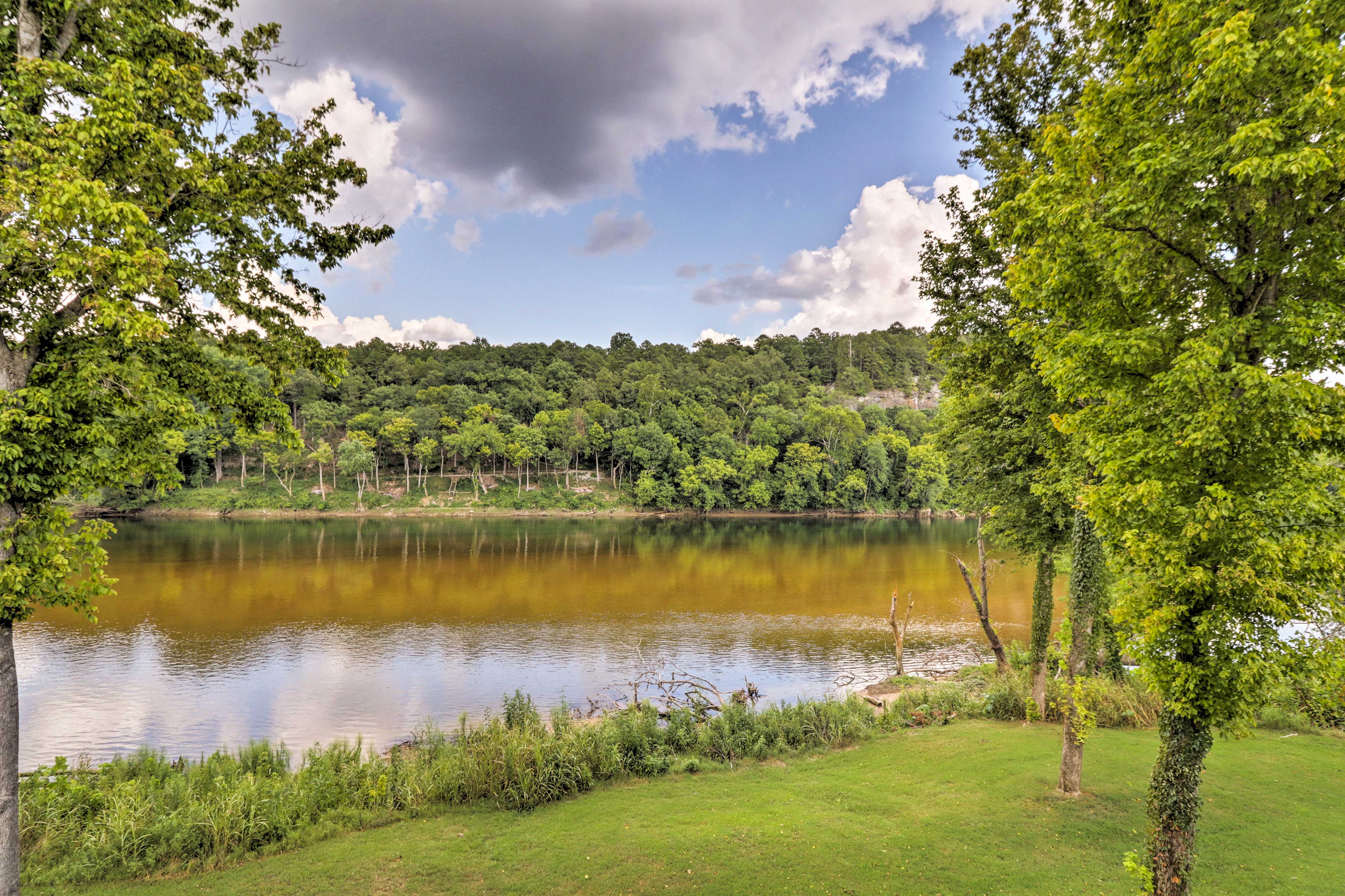 Soak up the stunning views of the White River!