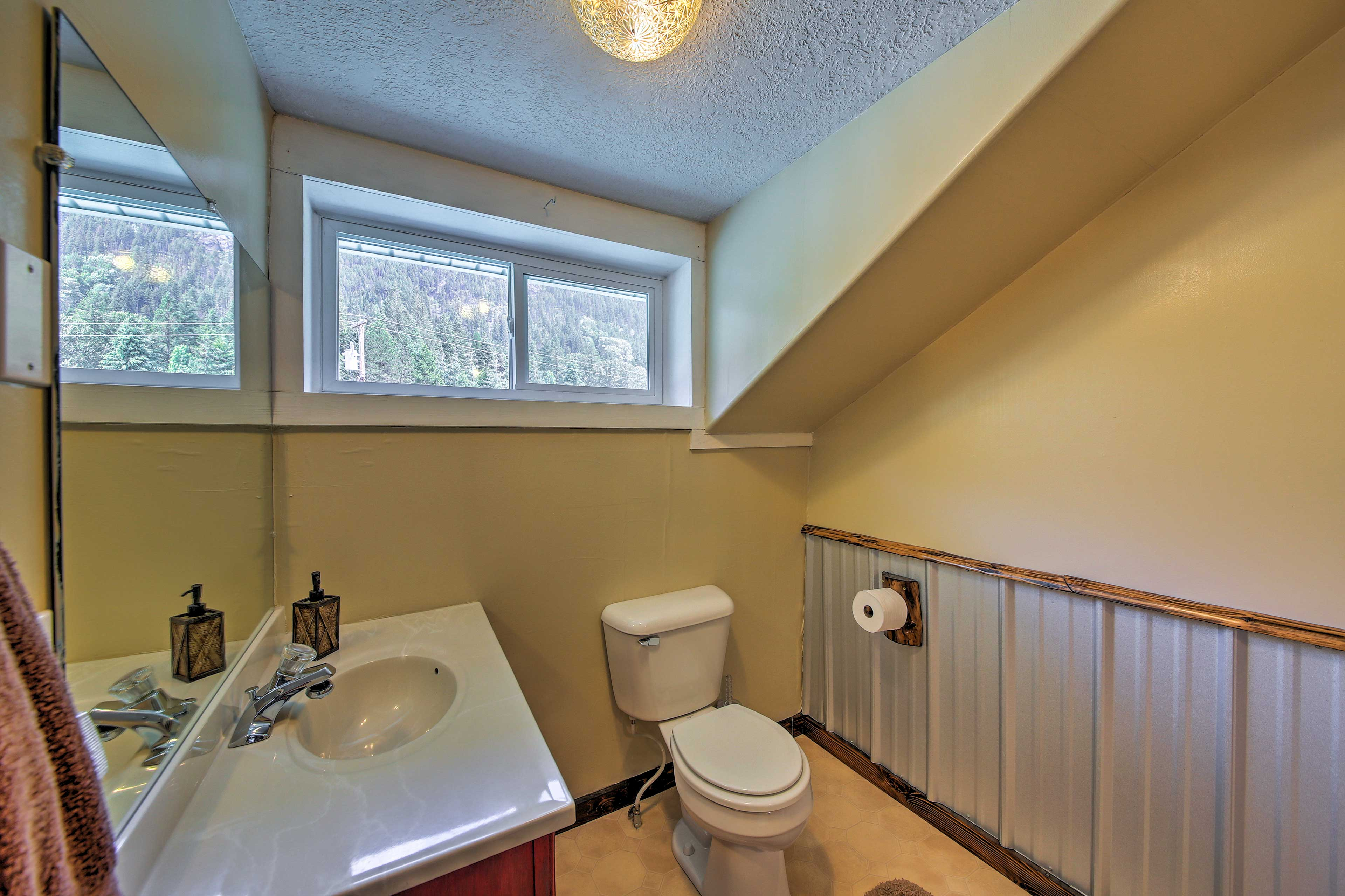 Morning routines will be a breeze with so many bathrooms to choose from.