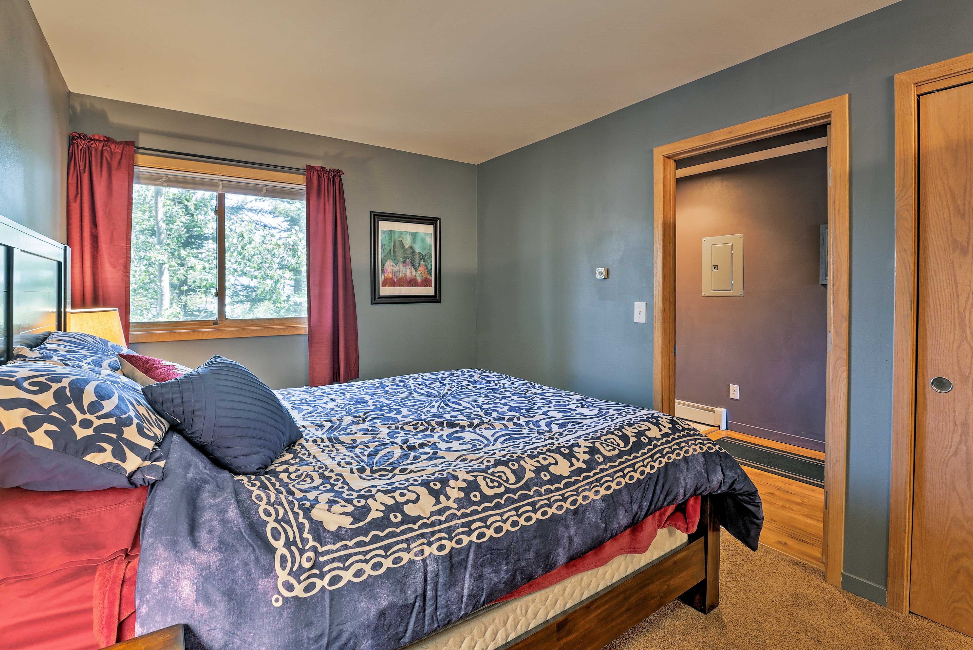 This home features 2 bedrooms and 2 full bathrooms.