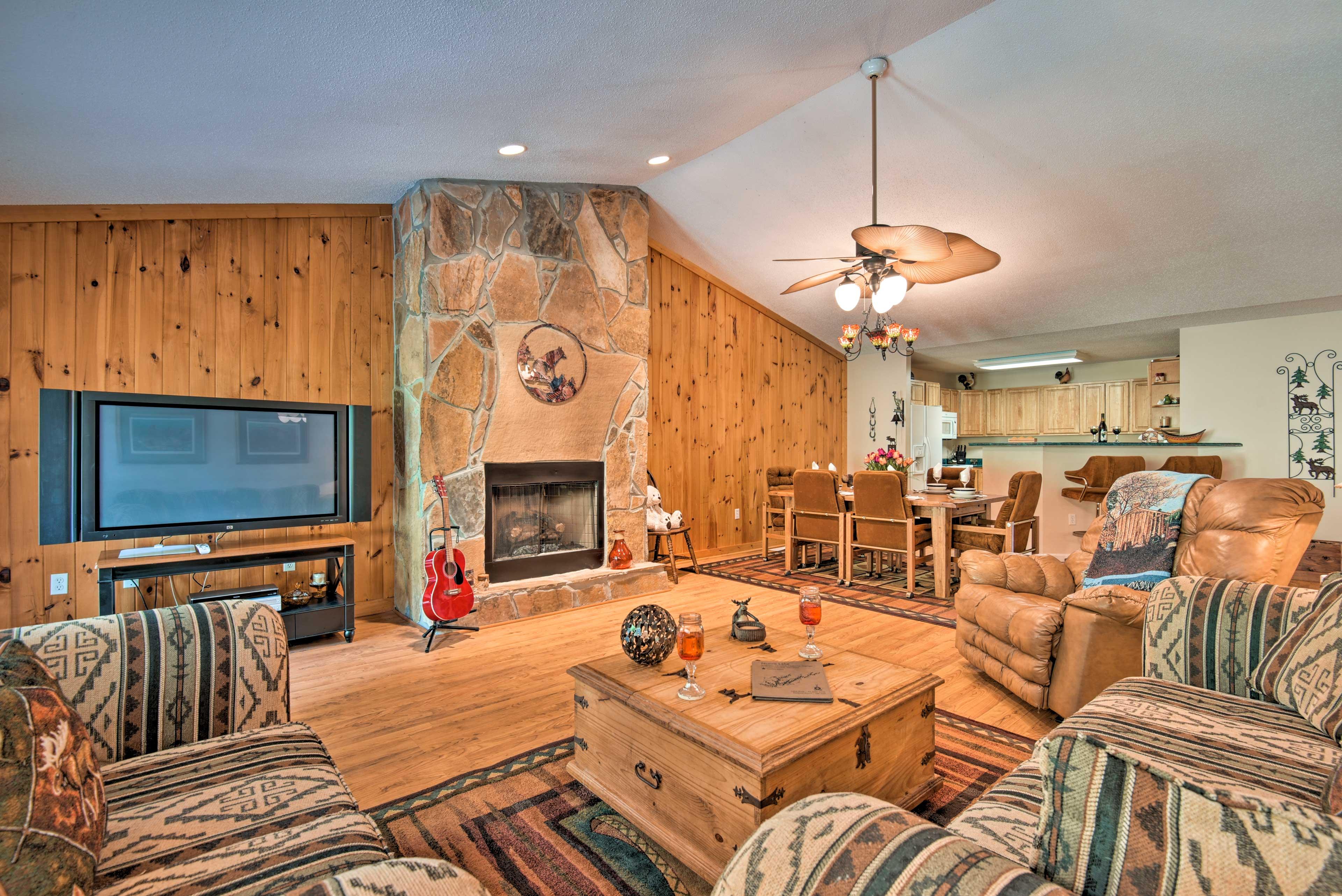 Unwind in this 2-bedroom, 2-bathroom vacation rental townhome.