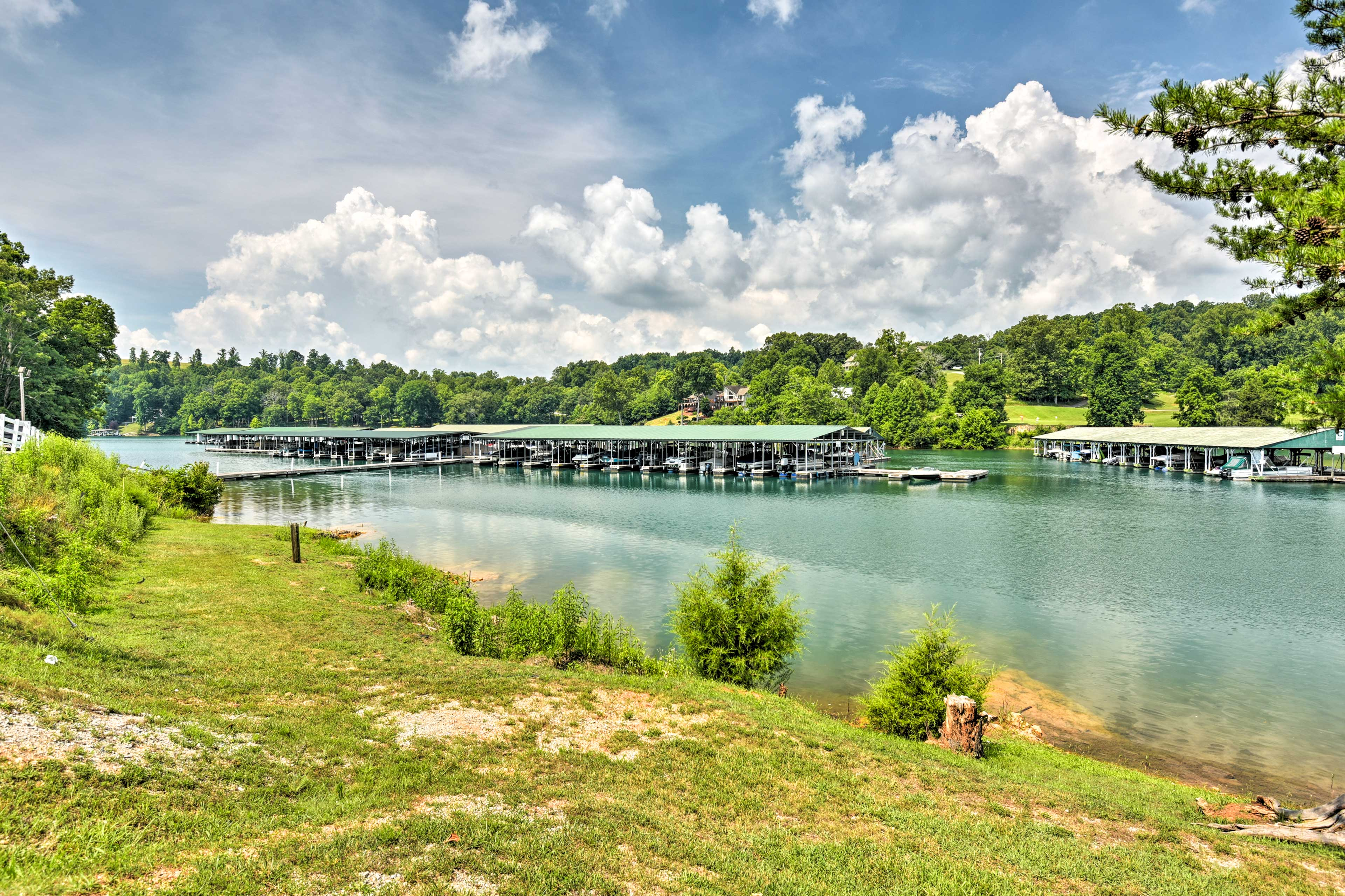 Lake Norris offers fishing, swimming, and more!
