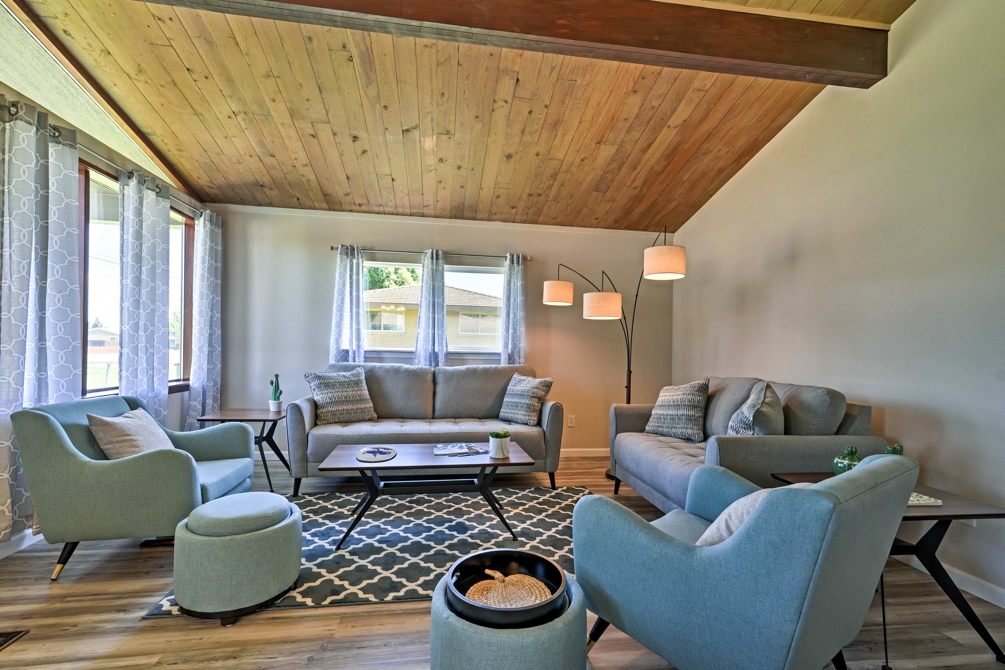 This home is surrounded by outdoor recreation, farmers market, and family fun.