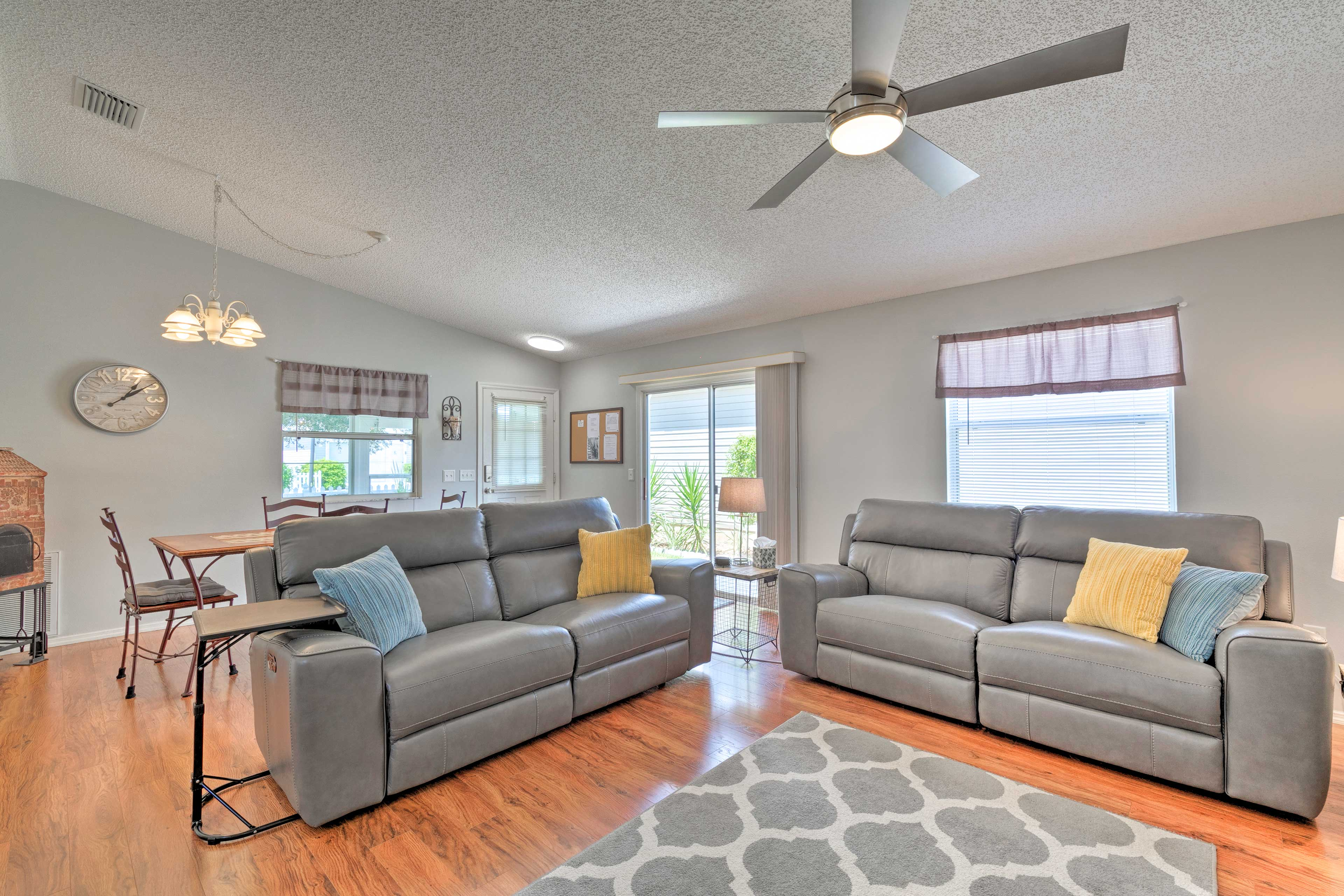 This home for 4 offers a newly renovated interior!