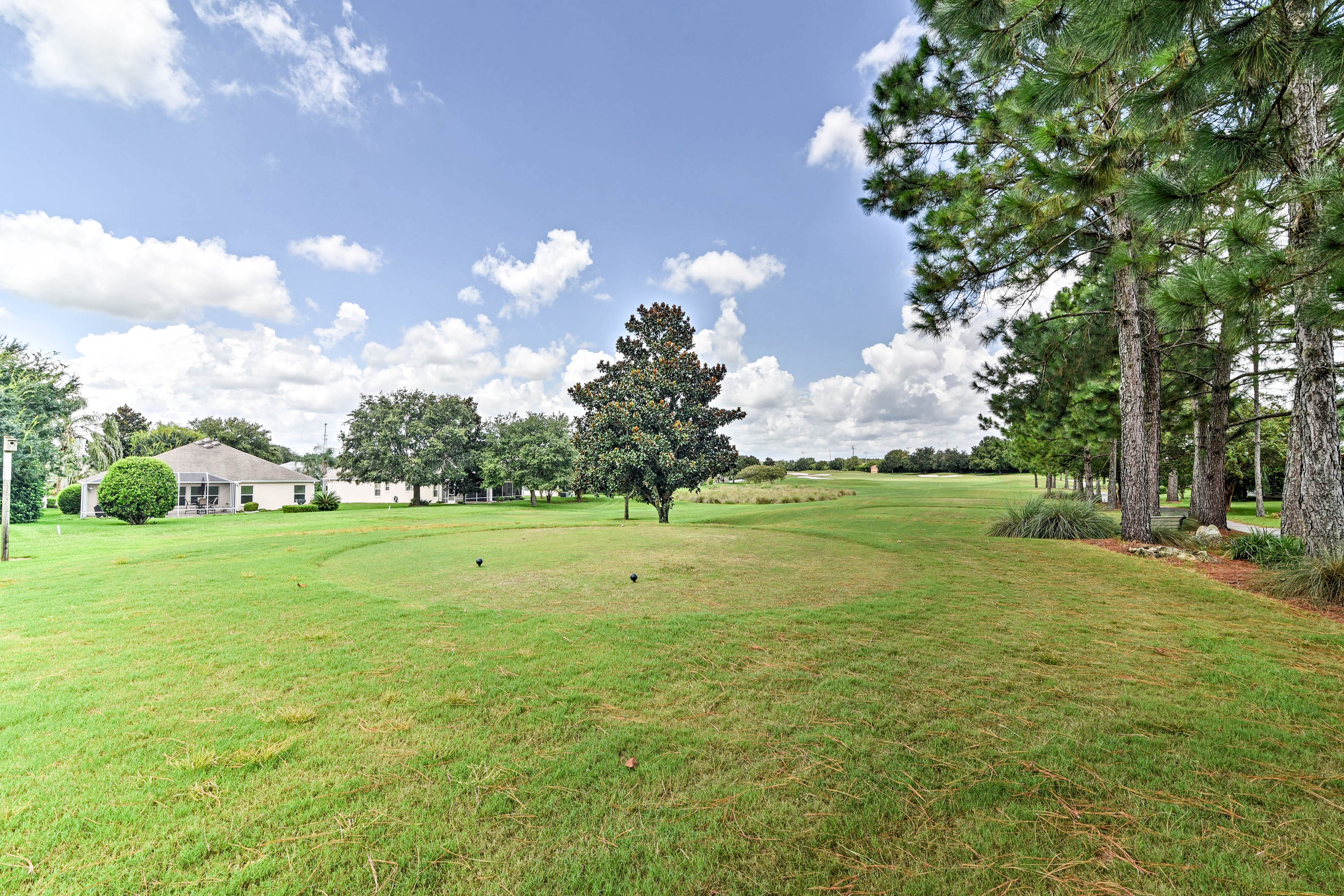 'The Villages' is one of the largest golf communities in the United States!
