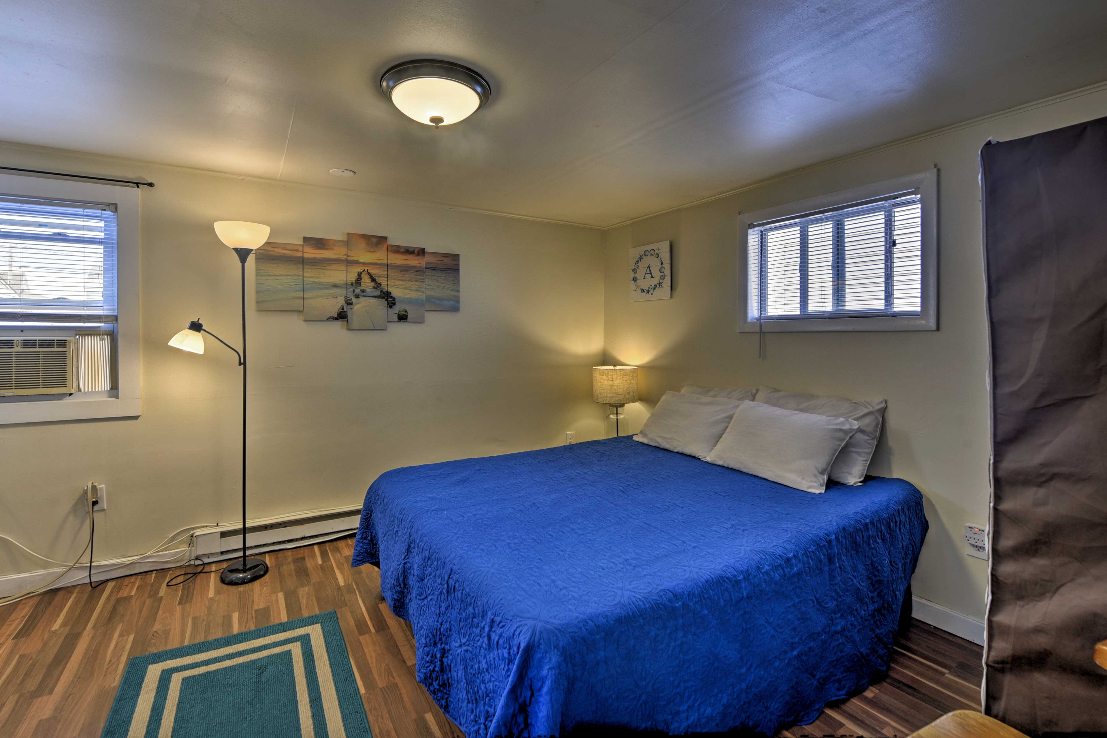 Choose from one of 3 bedrooms for a peaceful slumber.