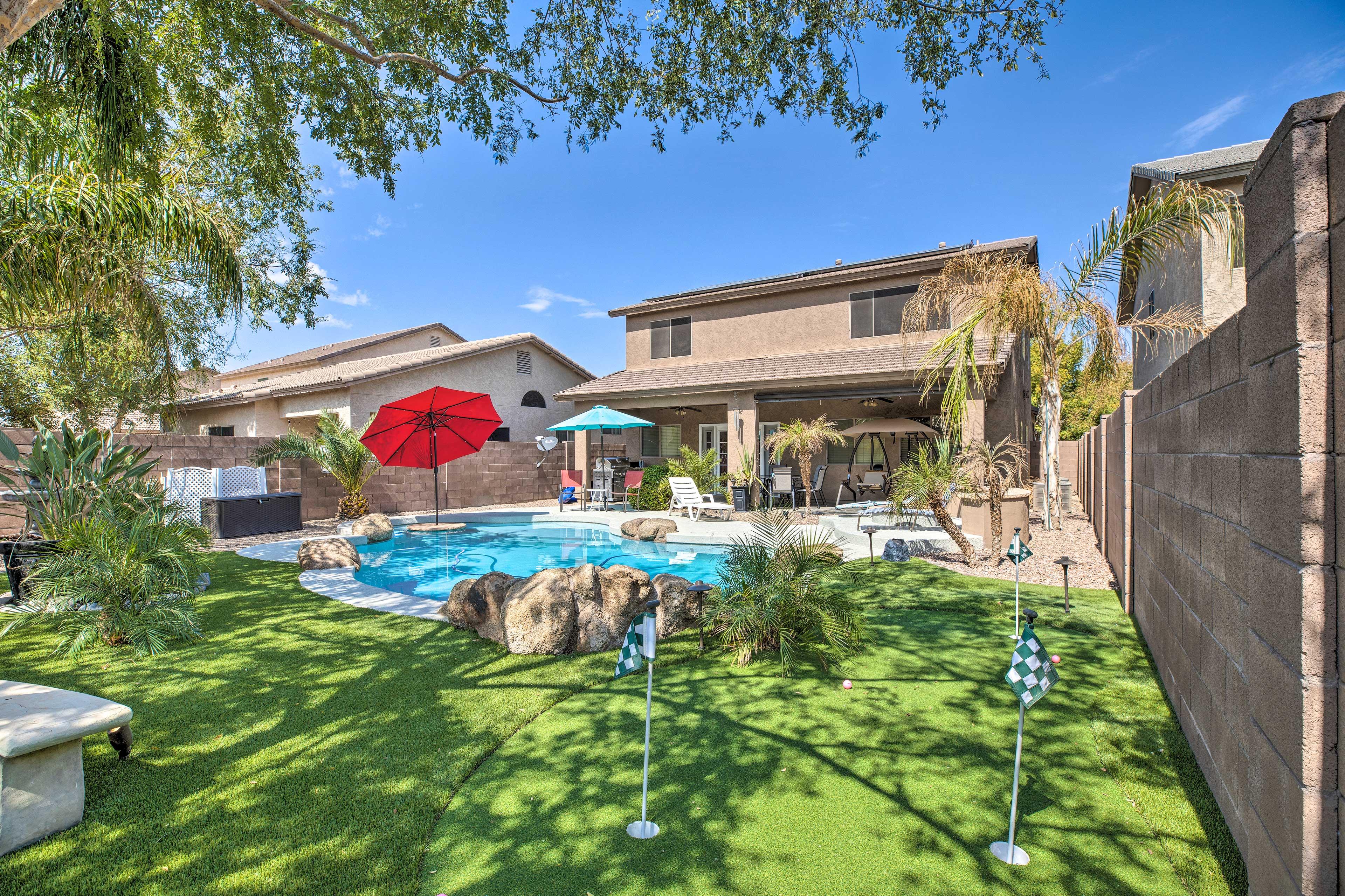 Dive into your next Arizona getaway at this stunning vacation rental!