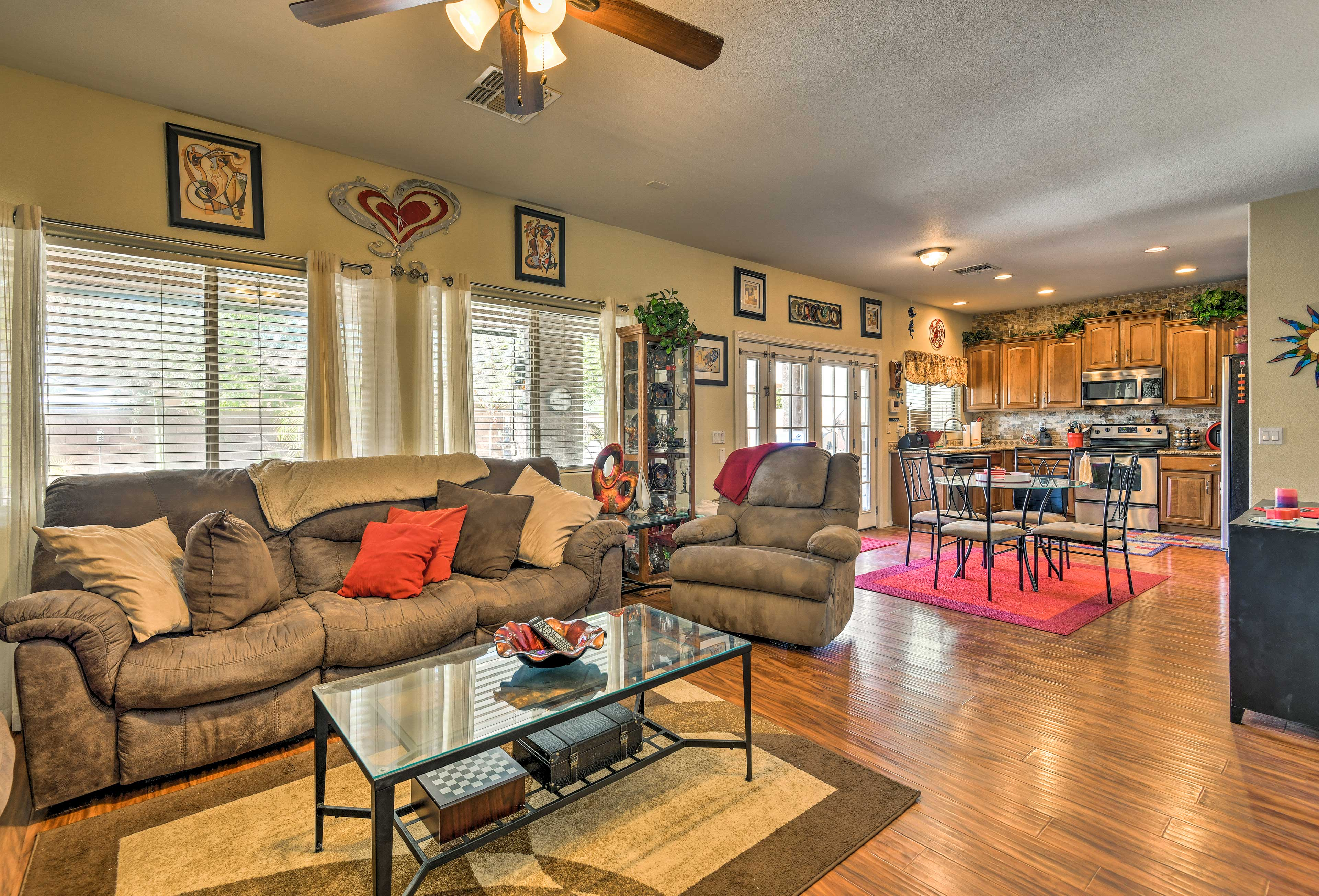 You're sure to love this open-concept home!