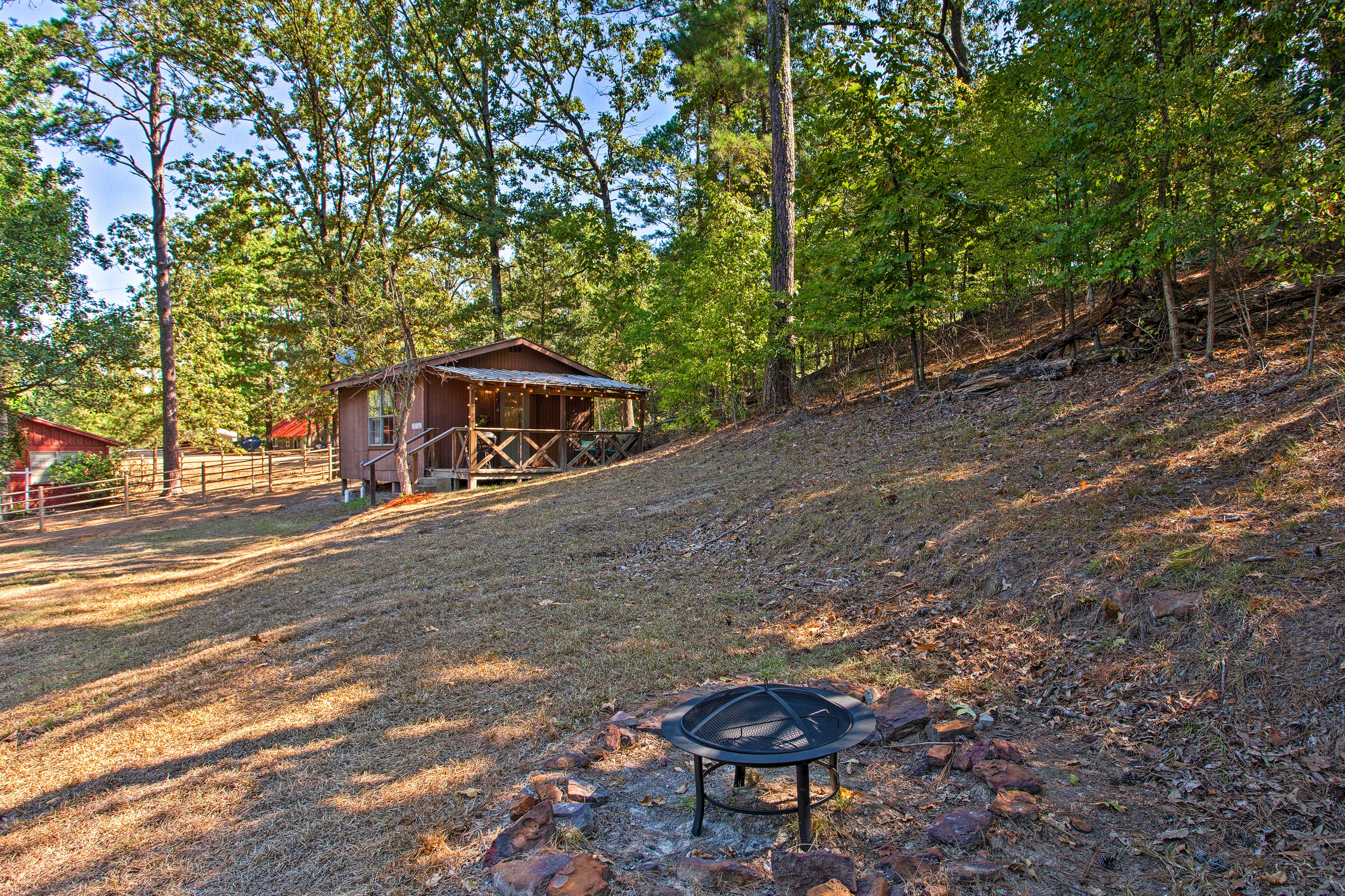 With a fire pit & spacious yard, you'll love spending time outdoors!