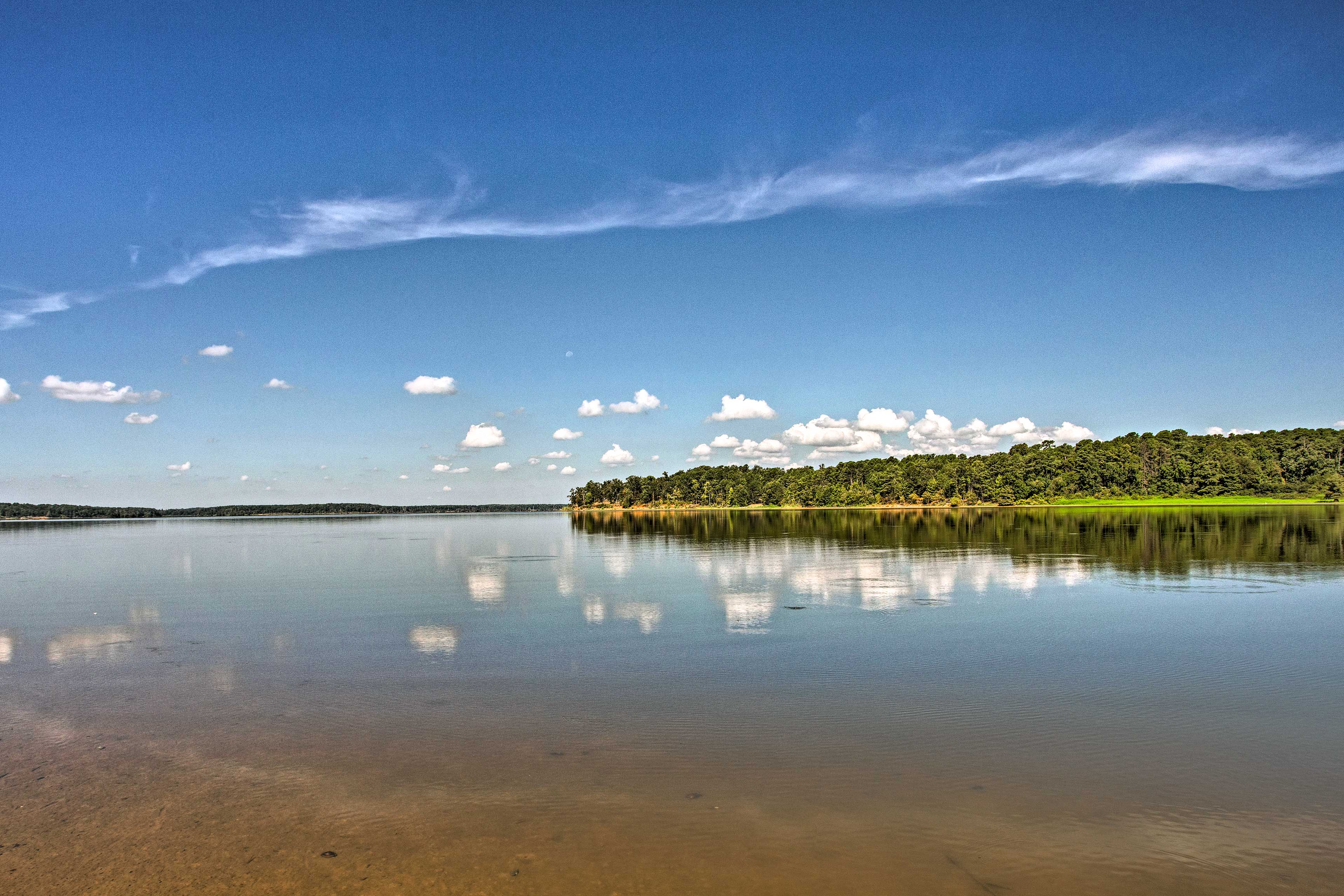 Lake O' the Pines is one of the most beautiful lakes in eastern Texas!