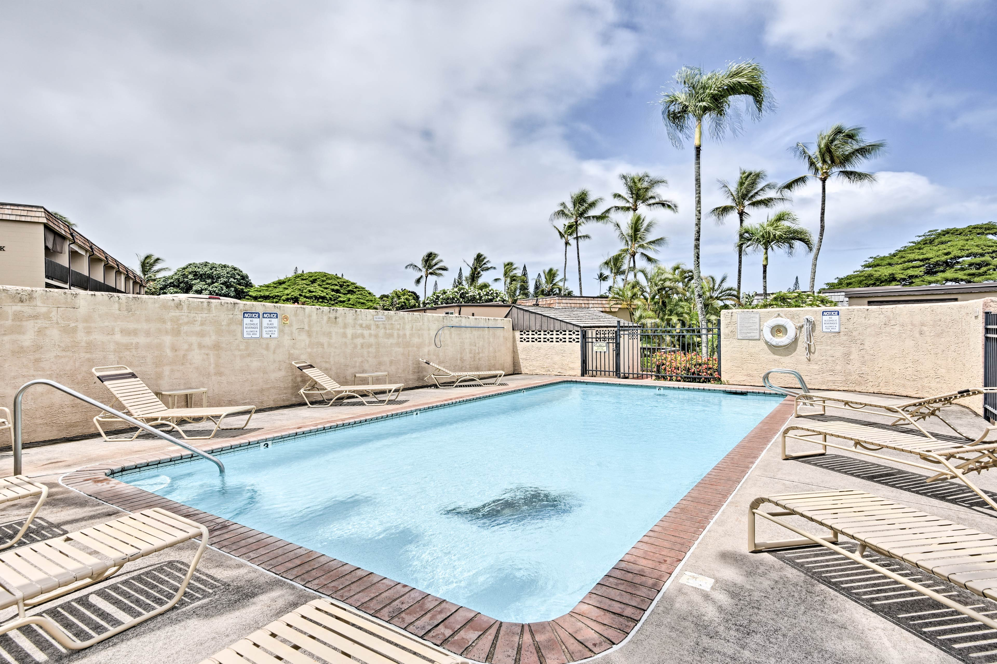Treat yourself to a worry-free stay at this Lahaina vacation rental condo!