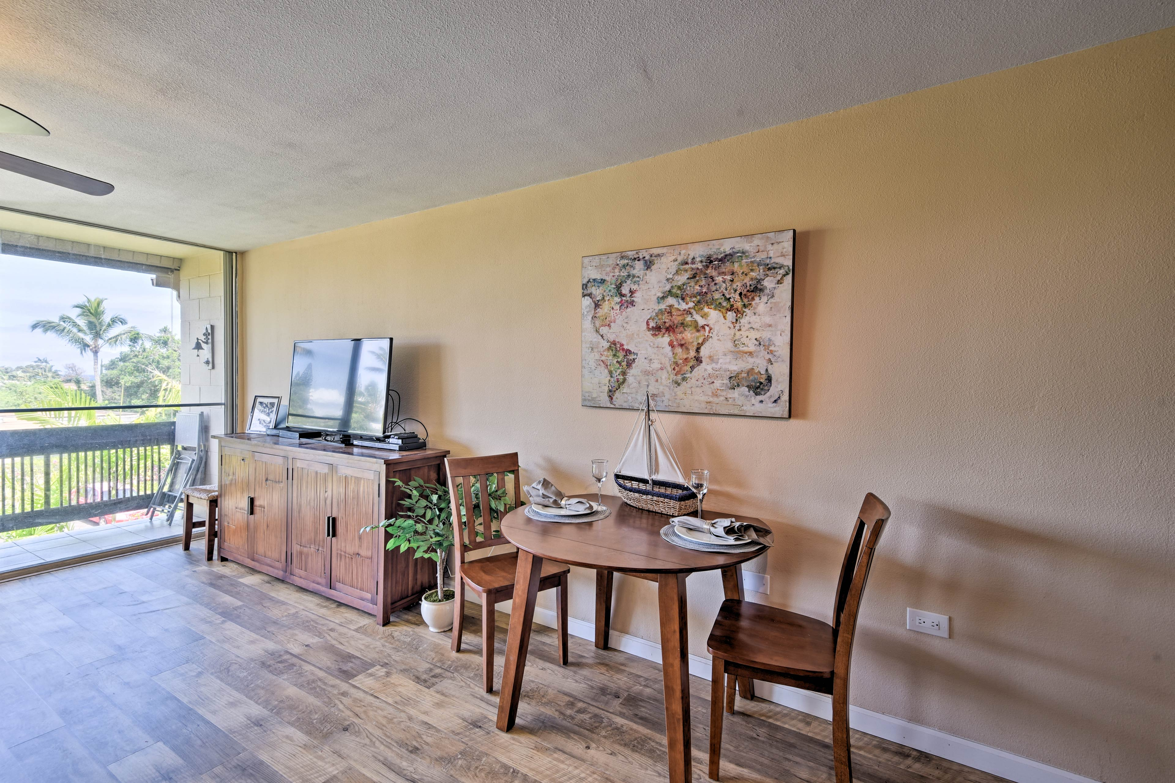 This condo is the perfect couple's retreat or small family getaway!
