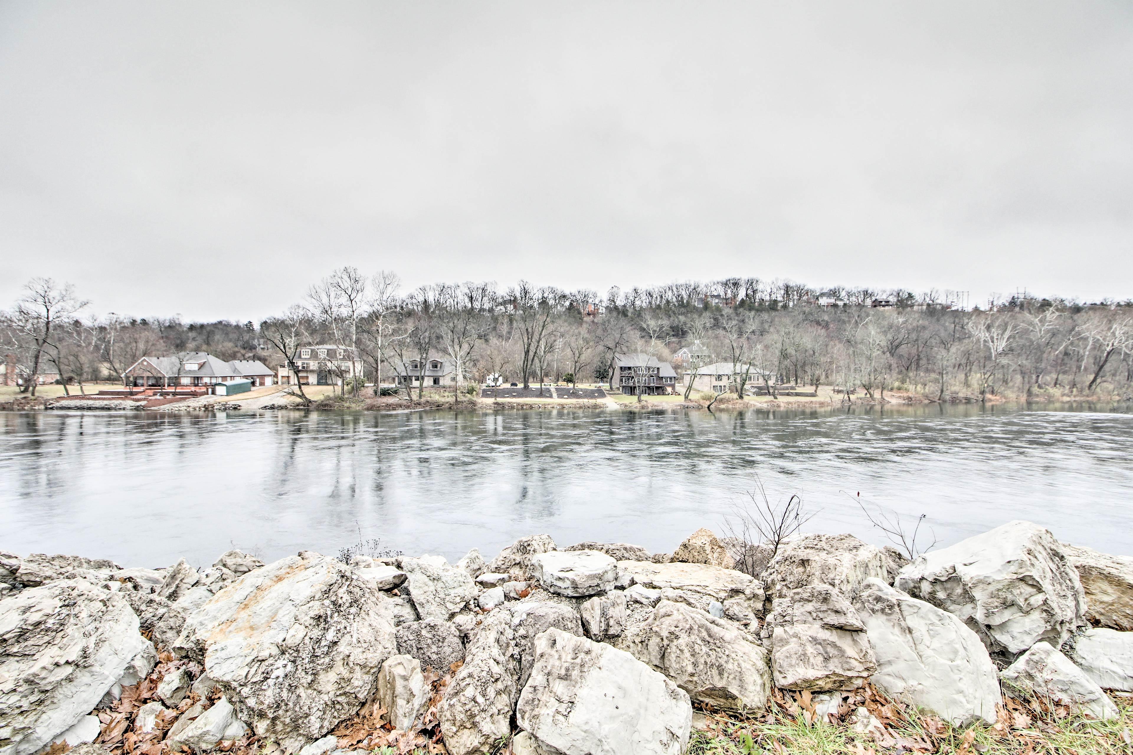 Fall Creek Marina is less than a half mile away.