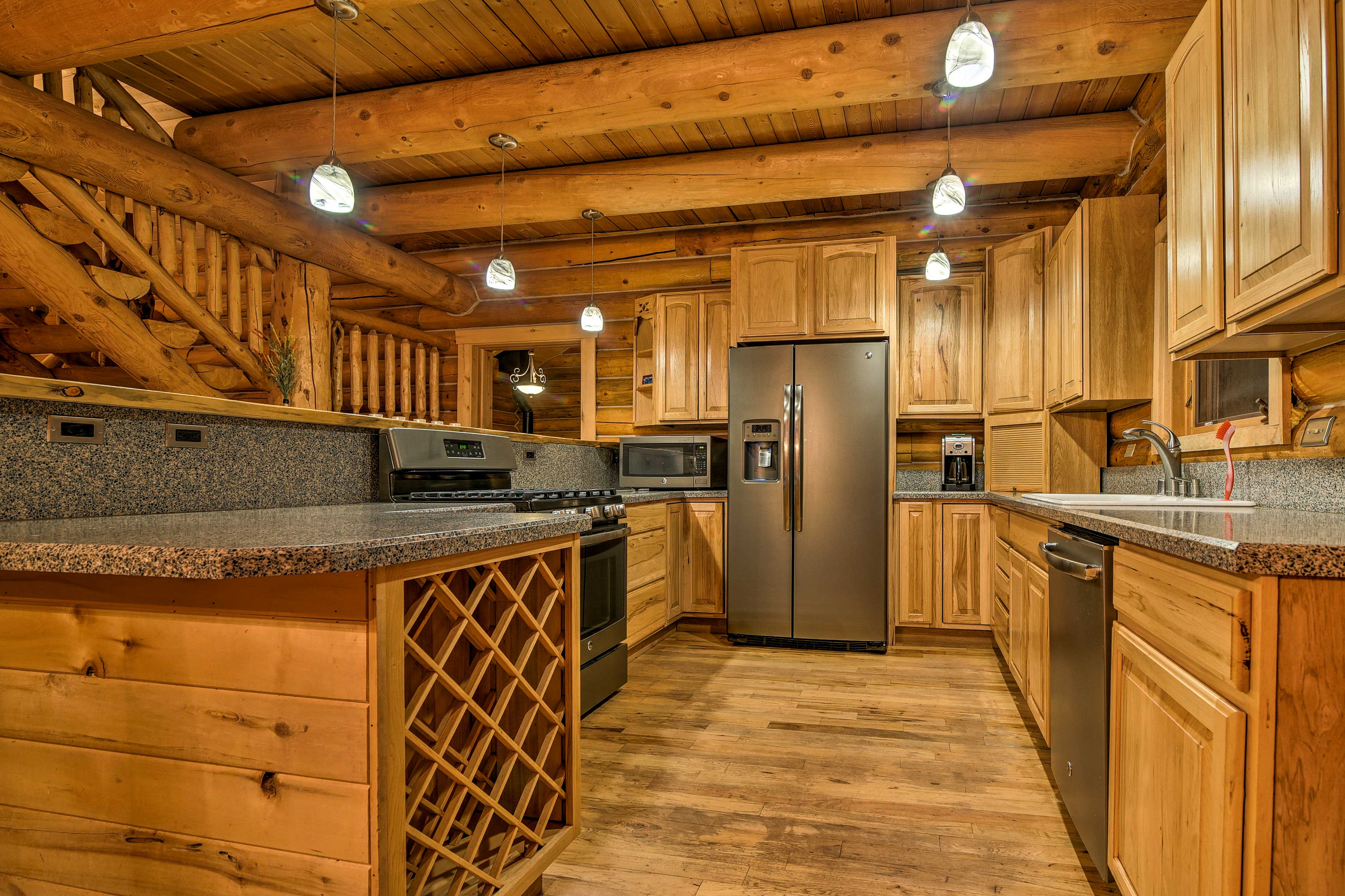 The home offers 2 kitchens in total.