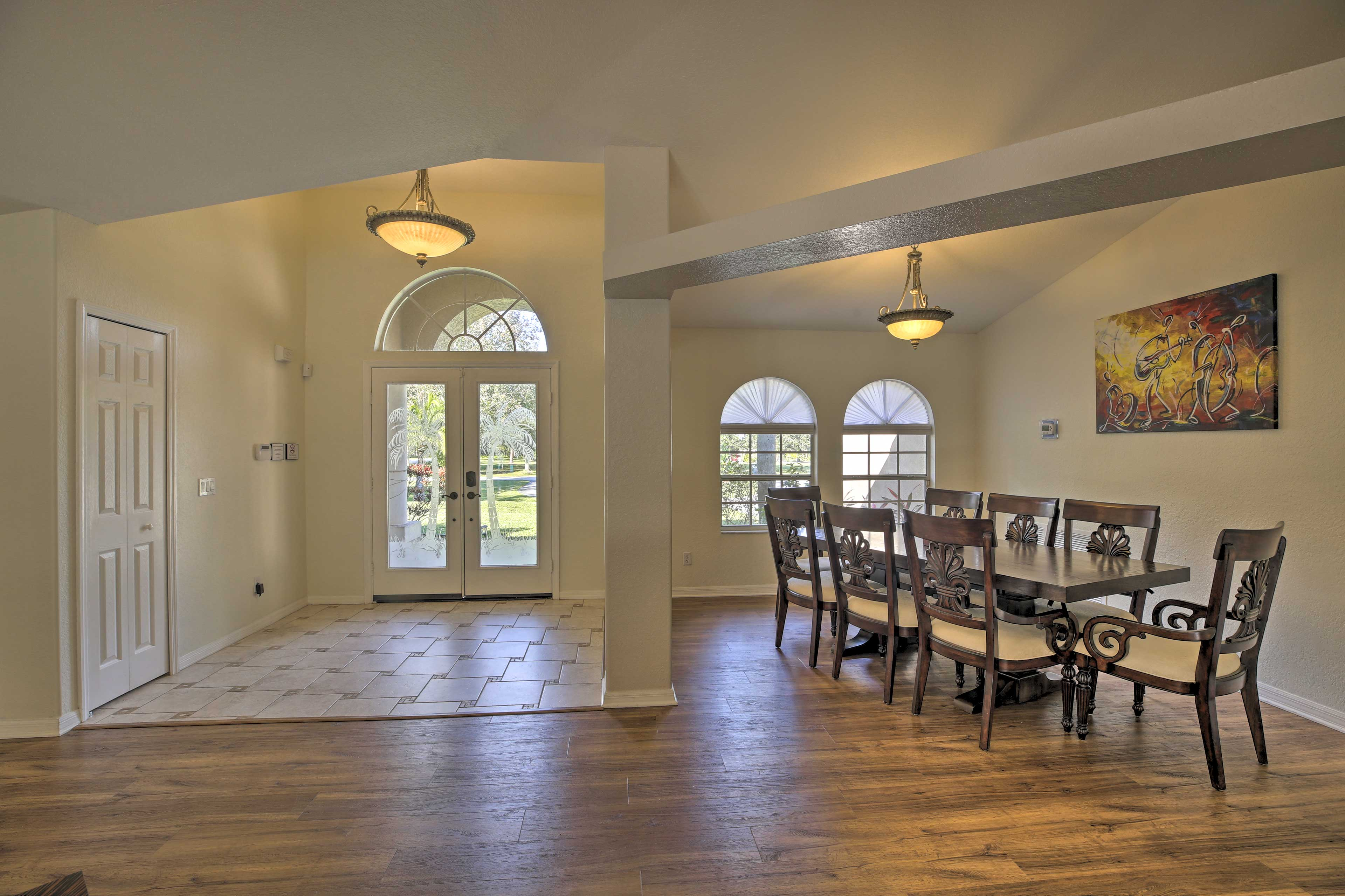 Dining Room | Front Entrance | Natural Sunlight