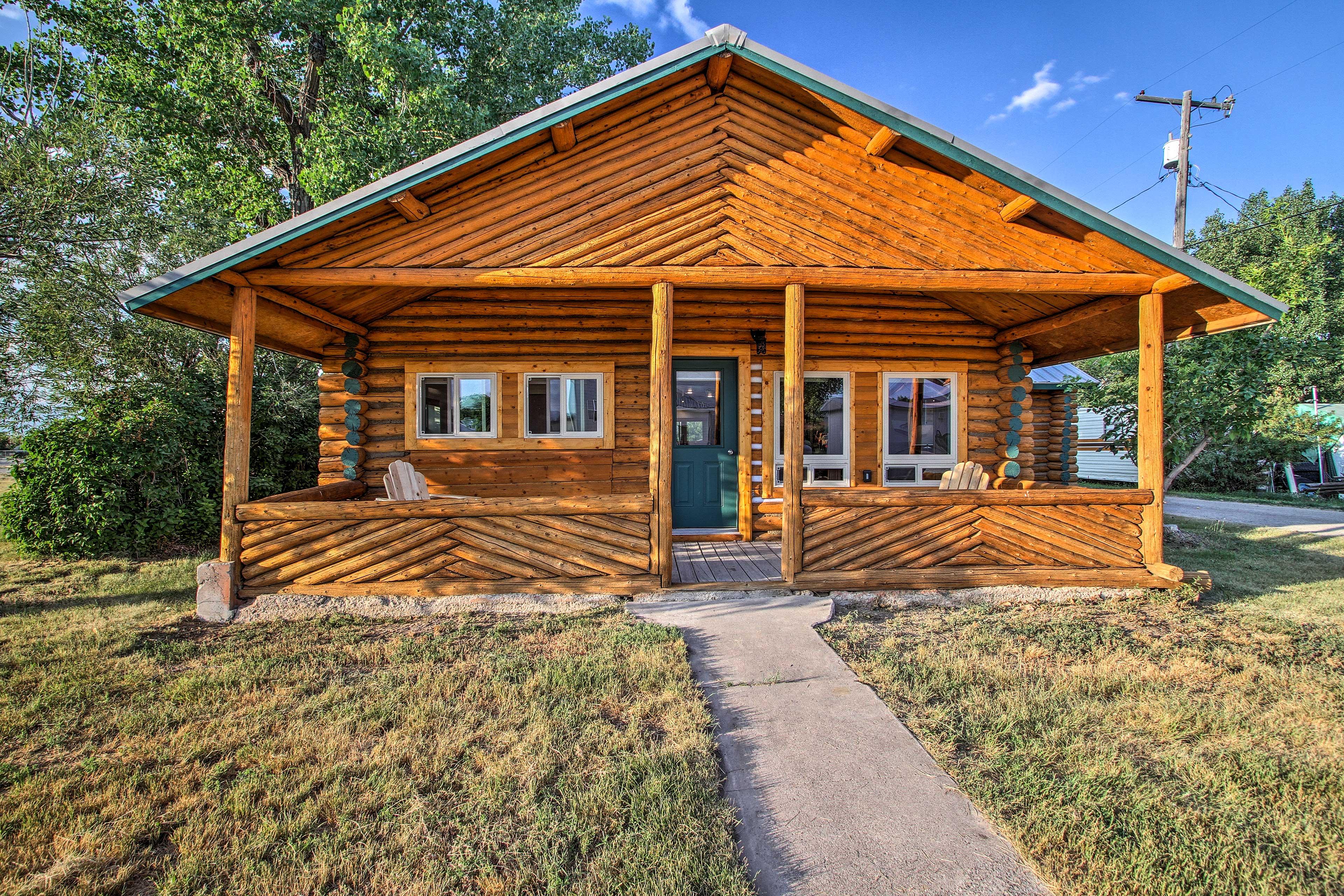 Book your Montana getaway to this 3-bedroom, 1-bath vacation rental cabin!