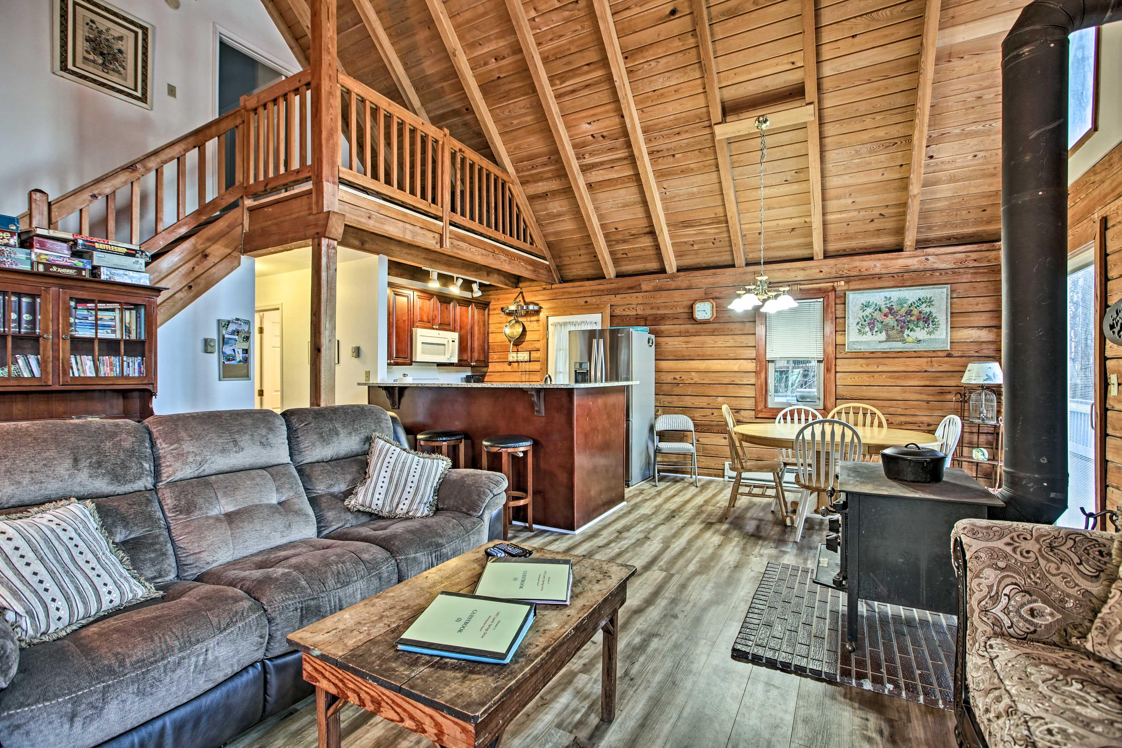 Living Room   Waterproof Flooring