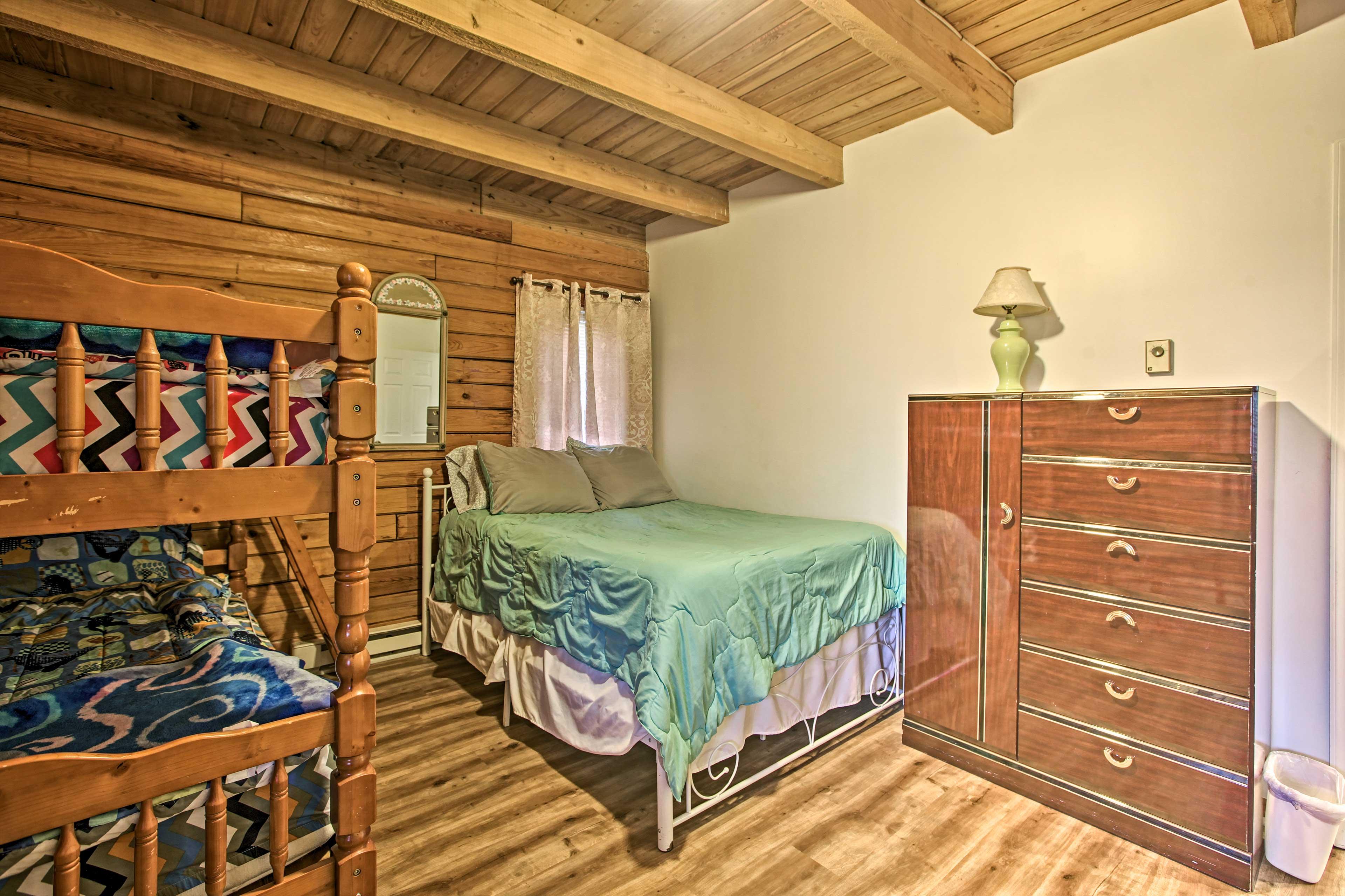 Bedroom 3   Twin Bunk Bed   Full Bed