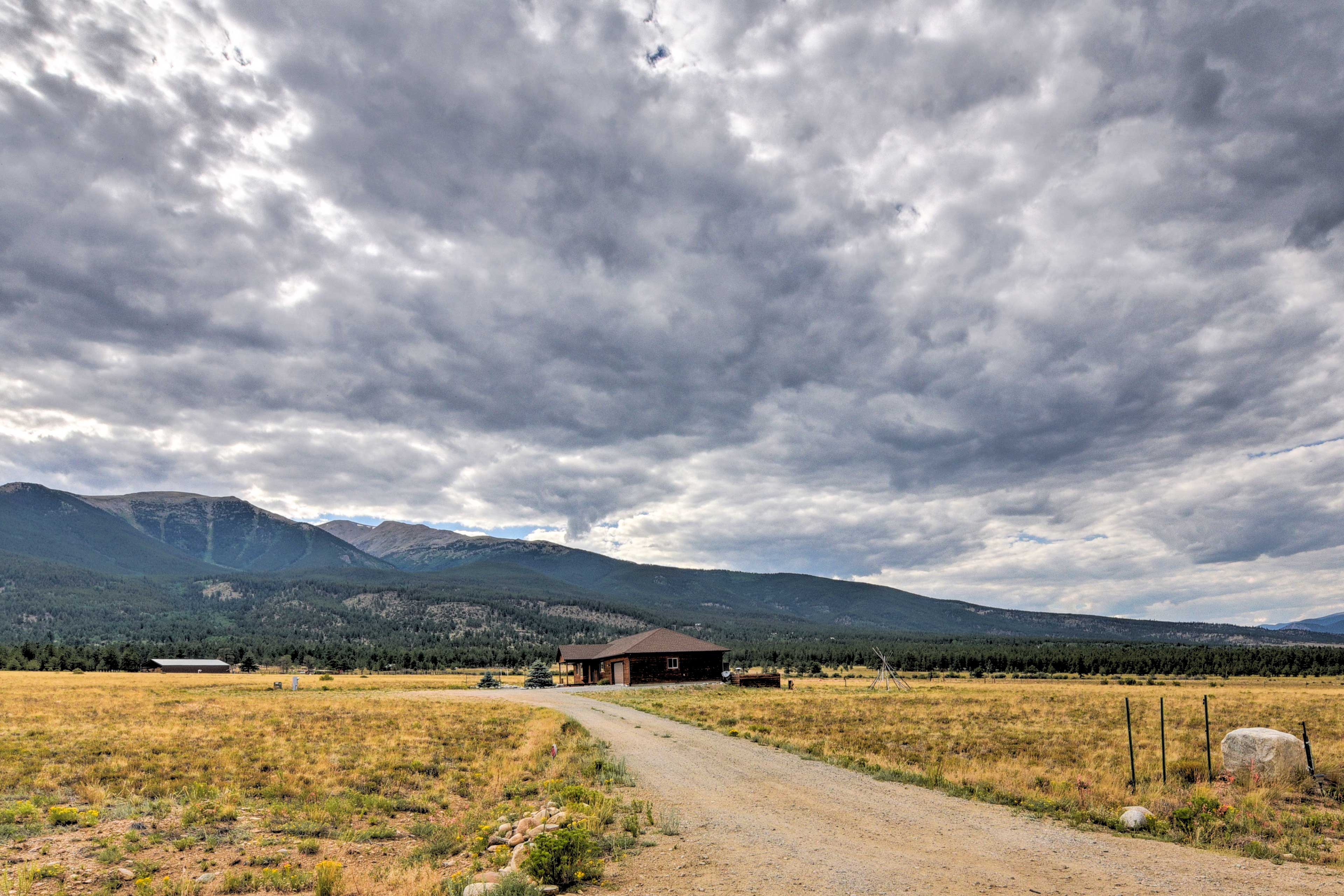 Visit the charming town of Buena Vista only 4.5 miles from your abode.