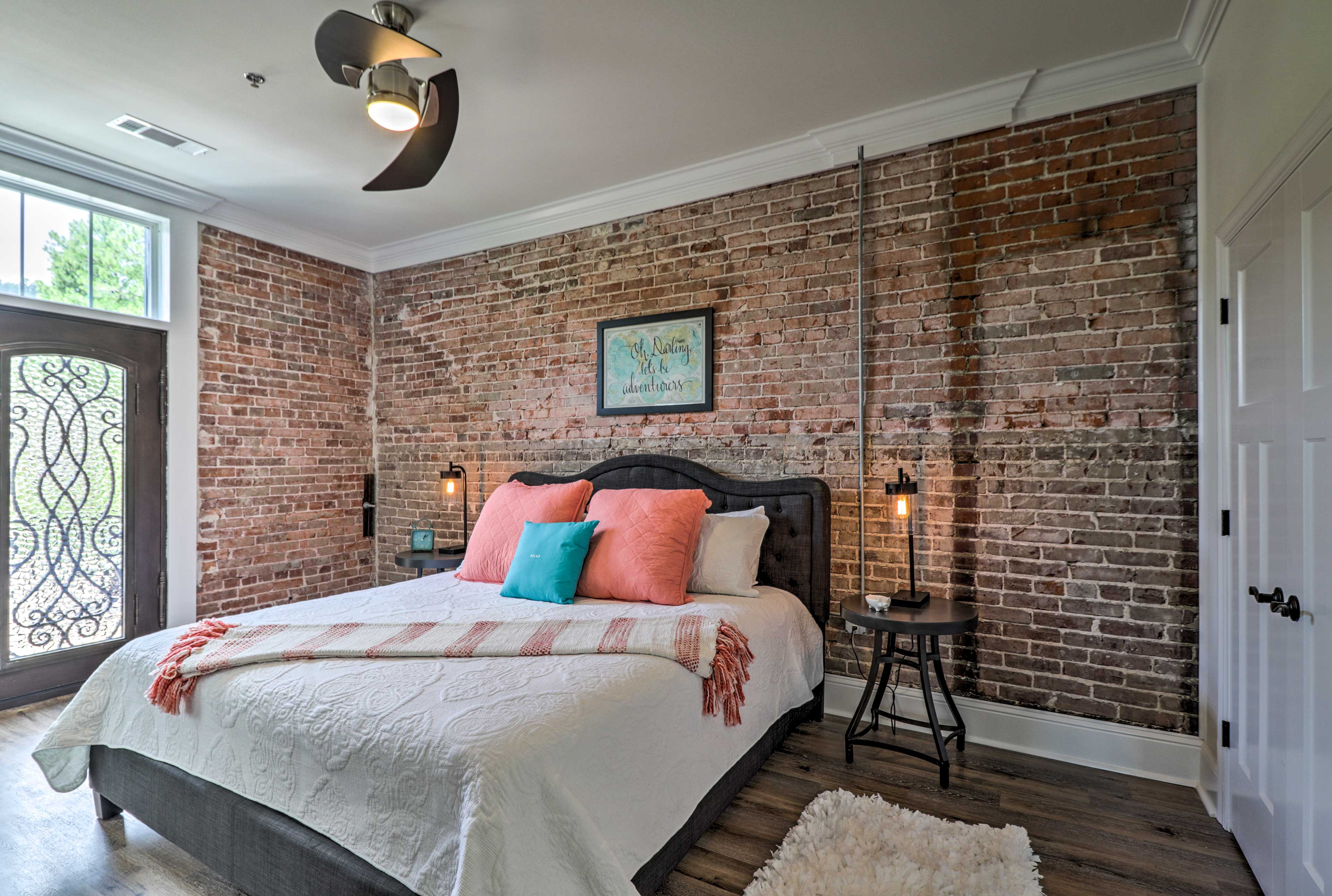 Claim the master suite for yourself!
